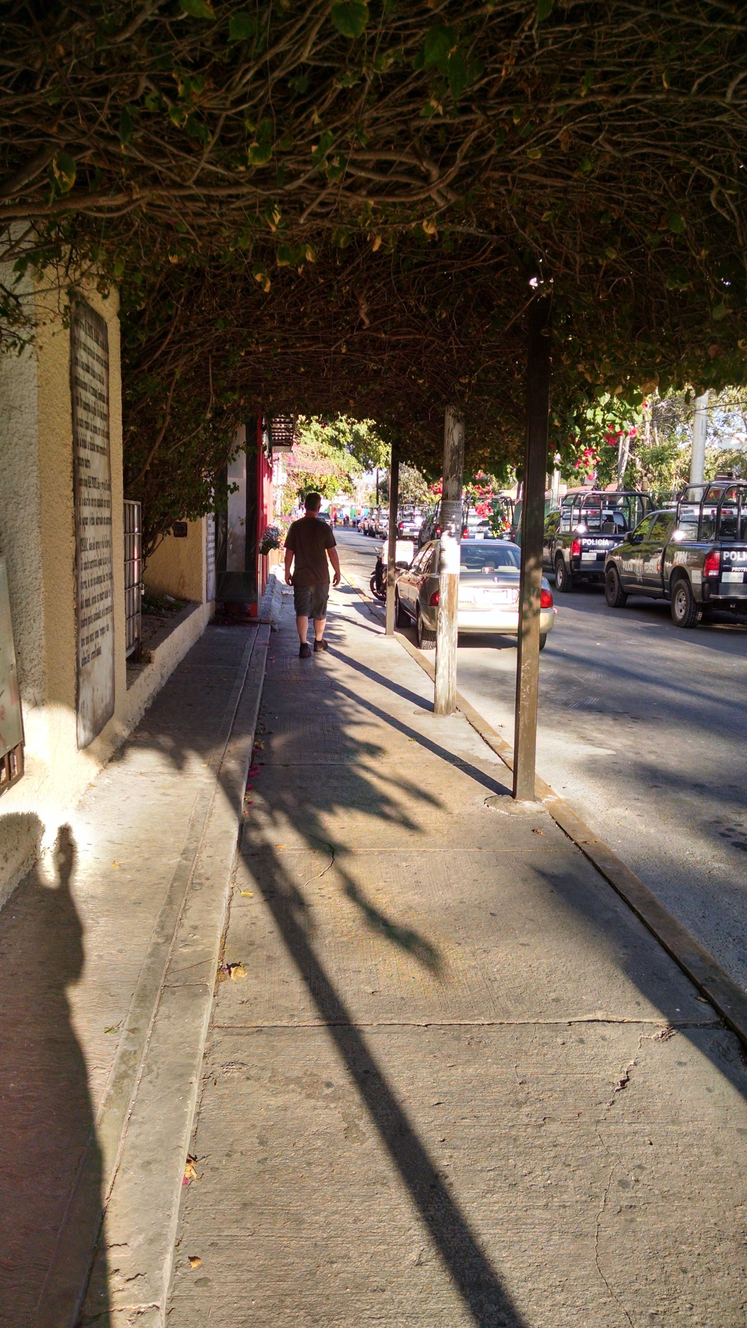 side street (parking)
