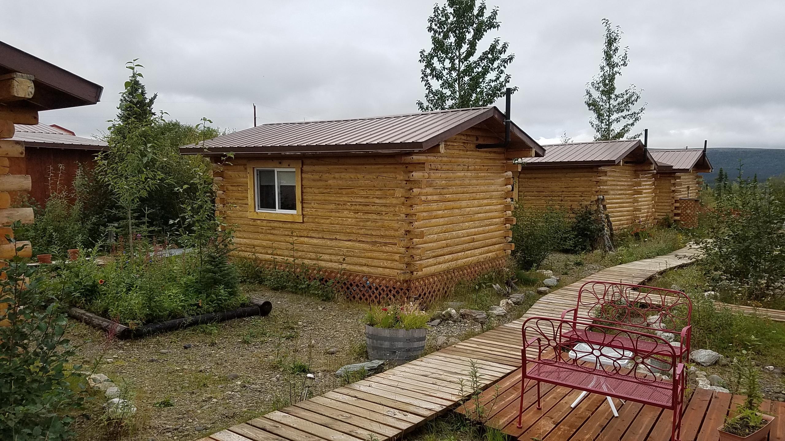 Earthsong Lodge cabins