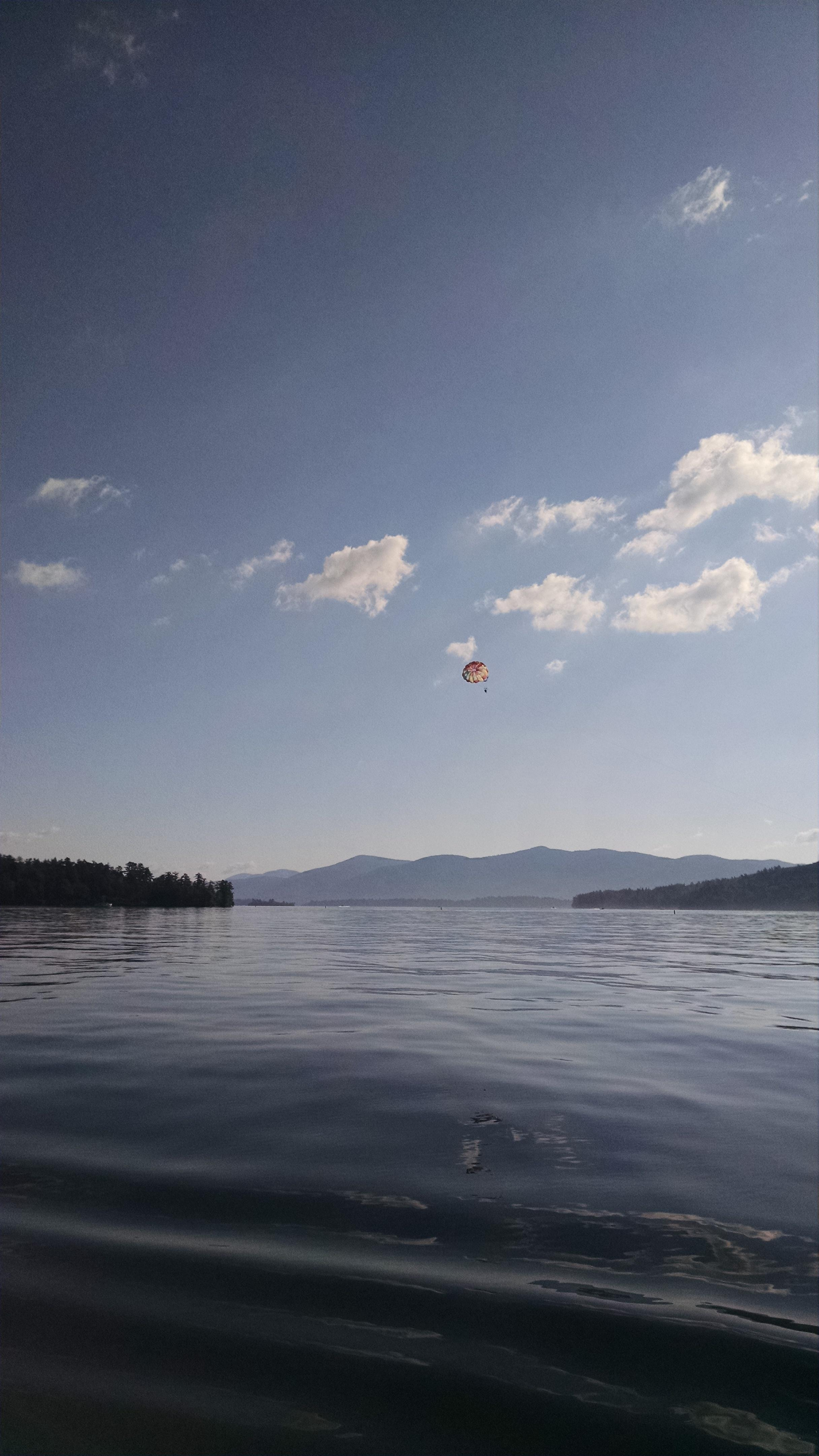 Lake George from the rowboat