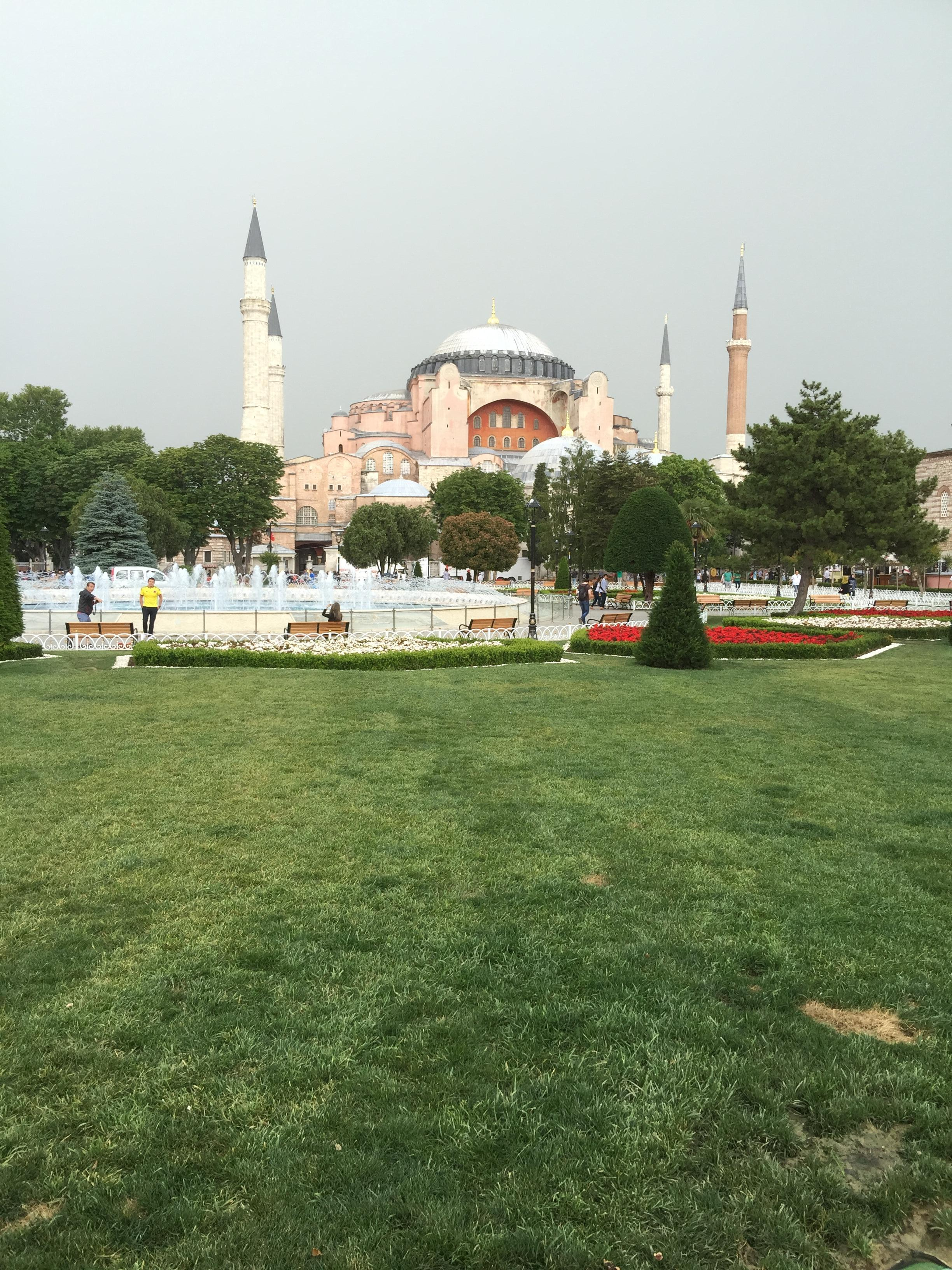 A close view of Blue Mosque