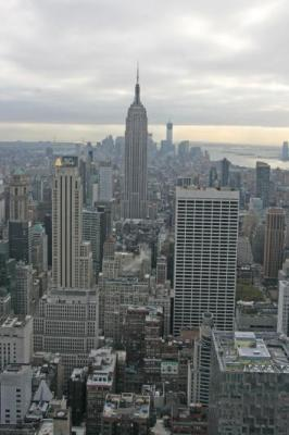 The view from Top of the Rock....just a few blocks away!