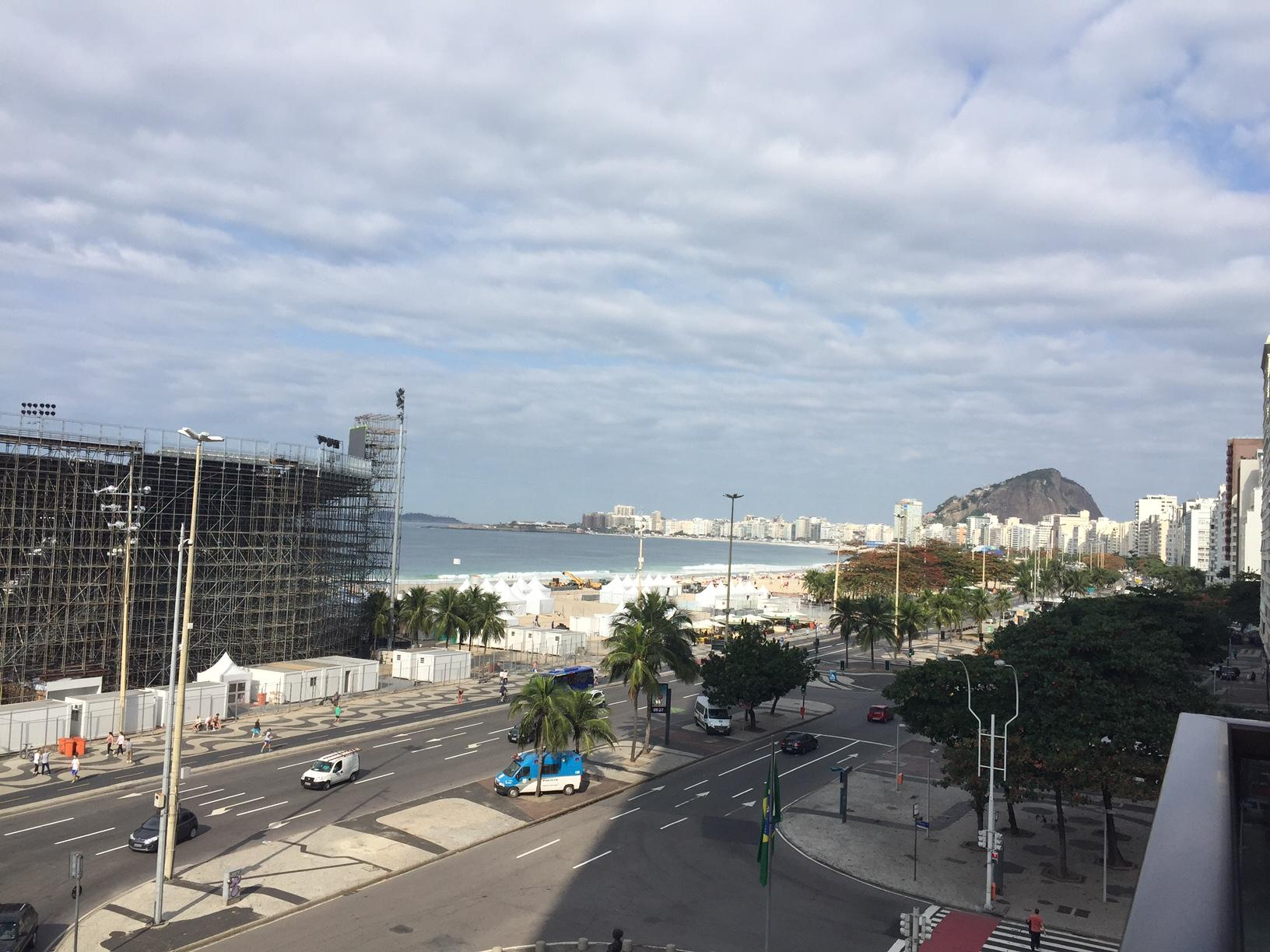 View of Part of Copacabana beach