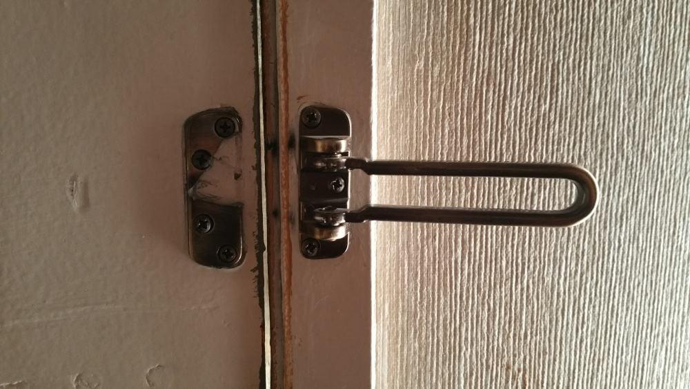 Broken Security Lock
