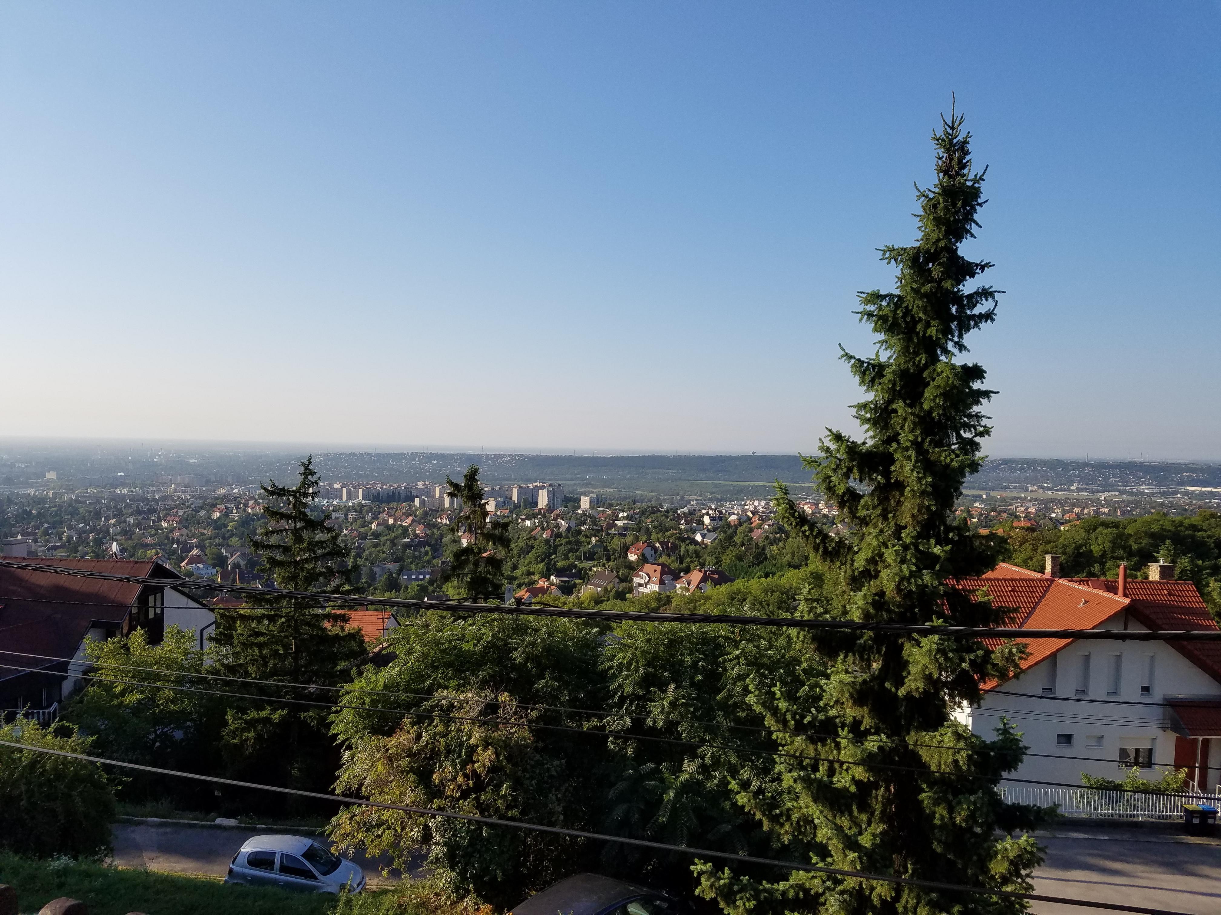 Views south