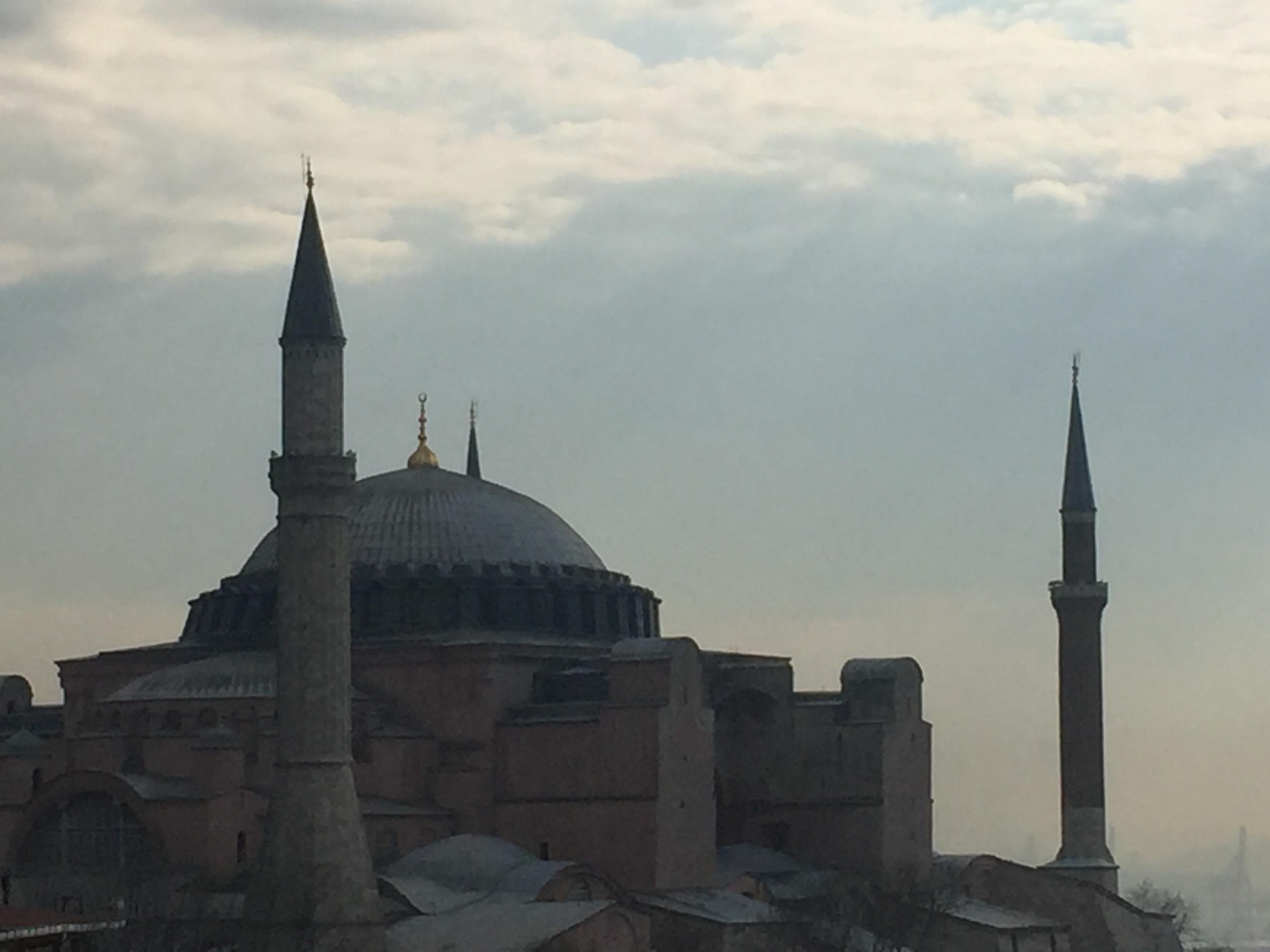 Hagia Sophia, from the terrace