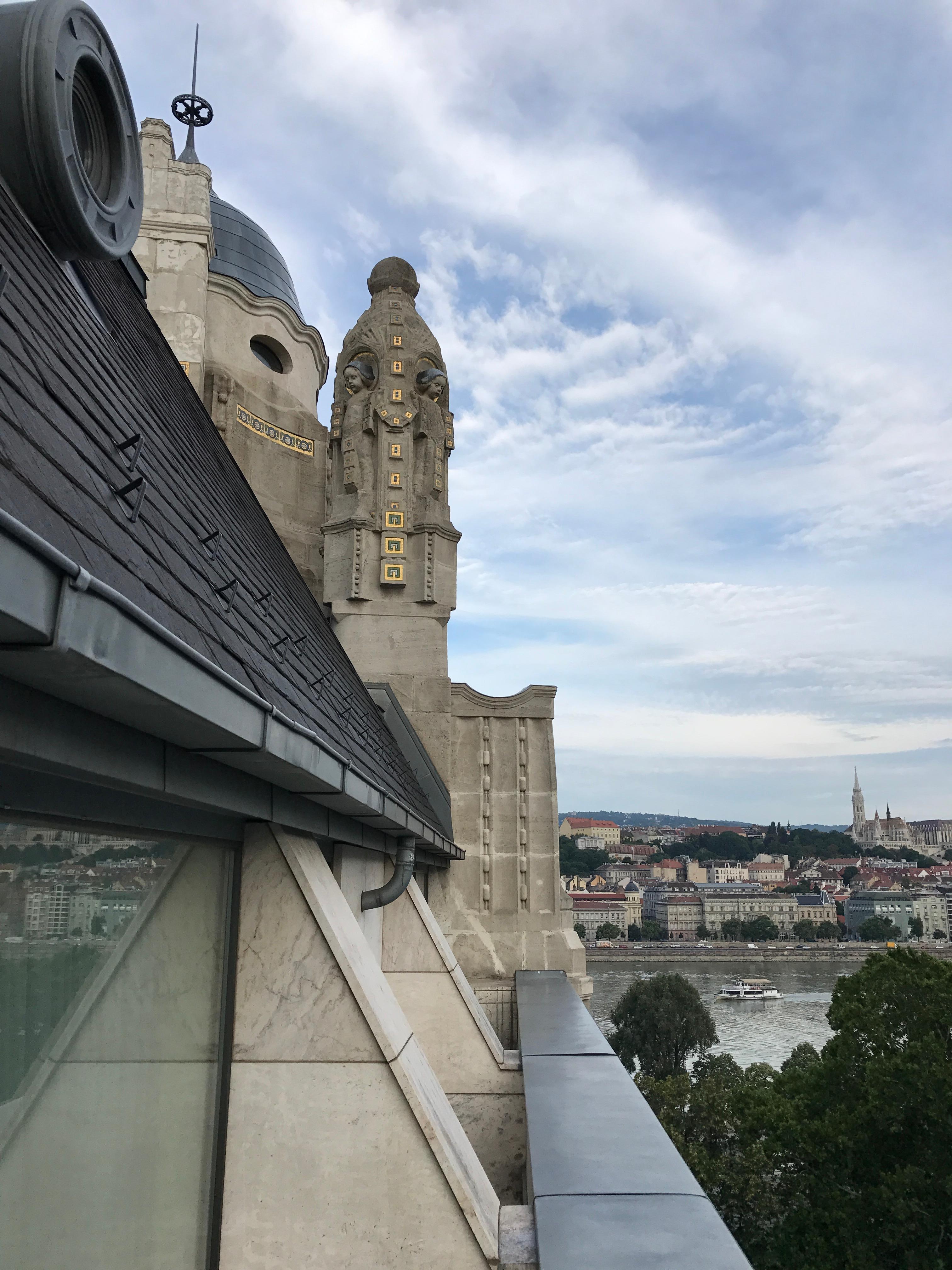 View from top floor room.