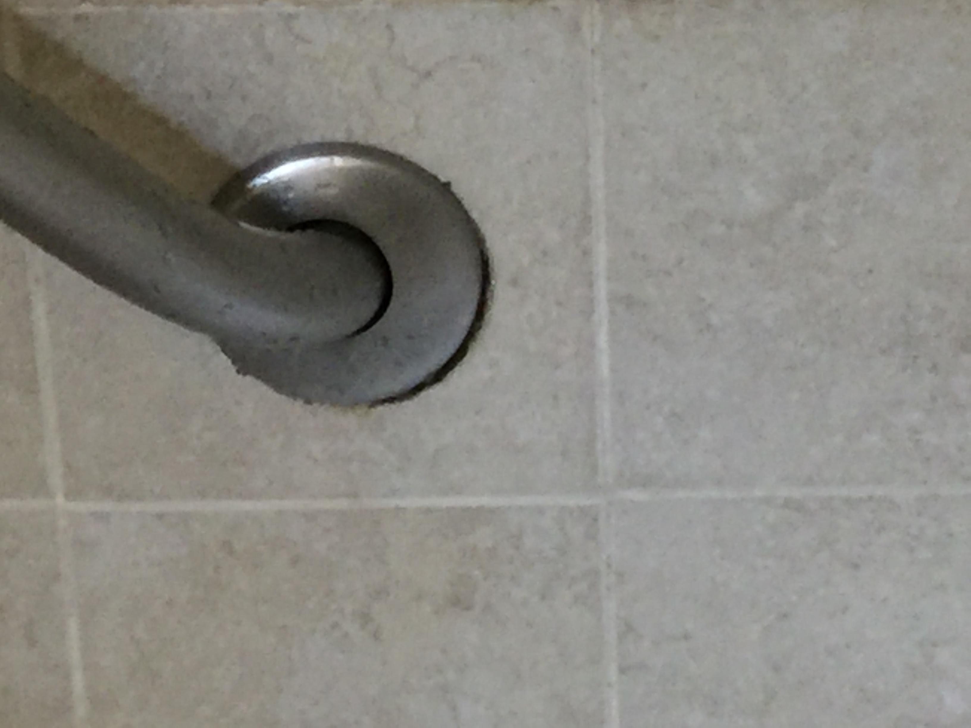 Bathroom mold in shower.