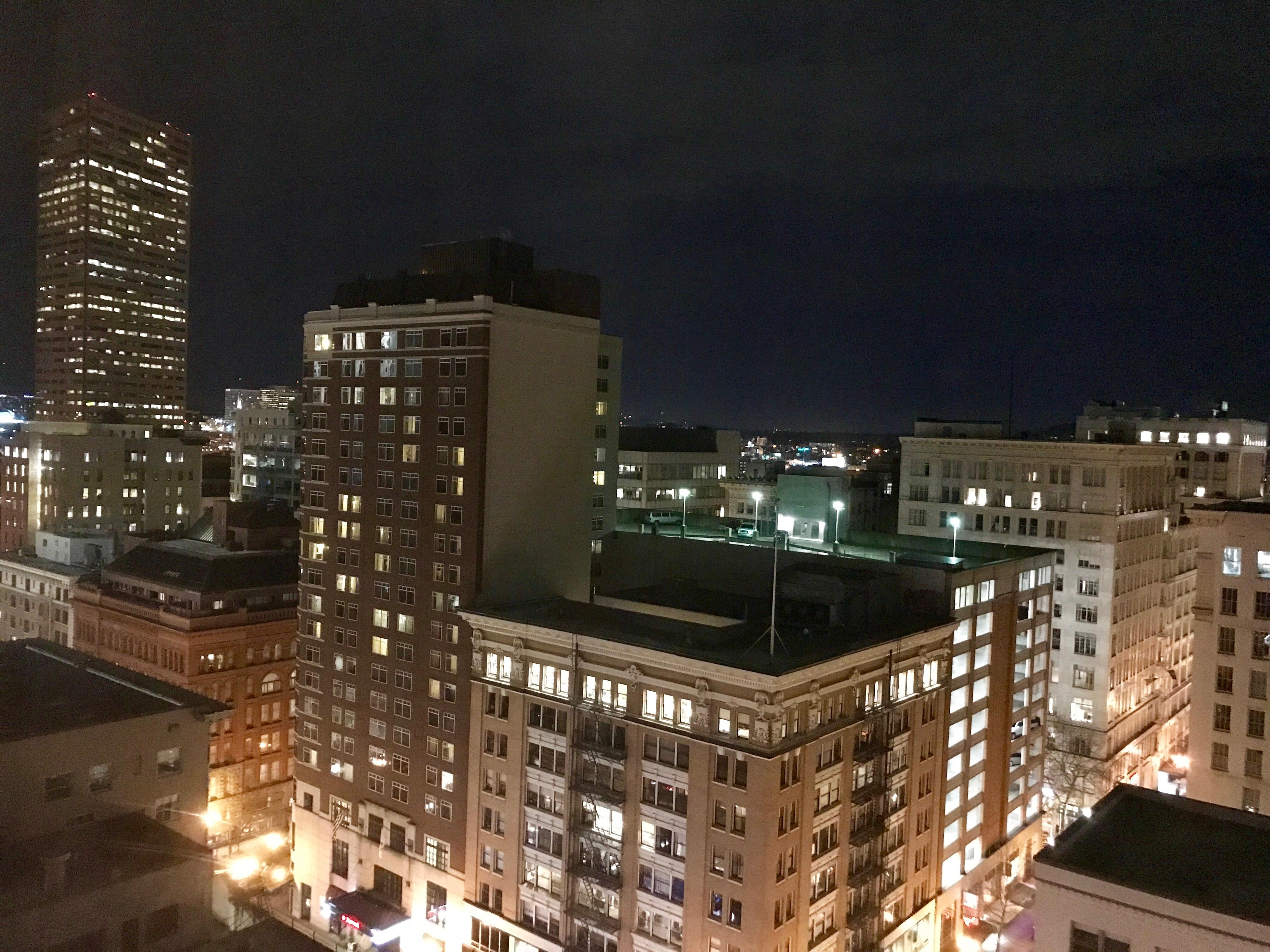 17th floor day view