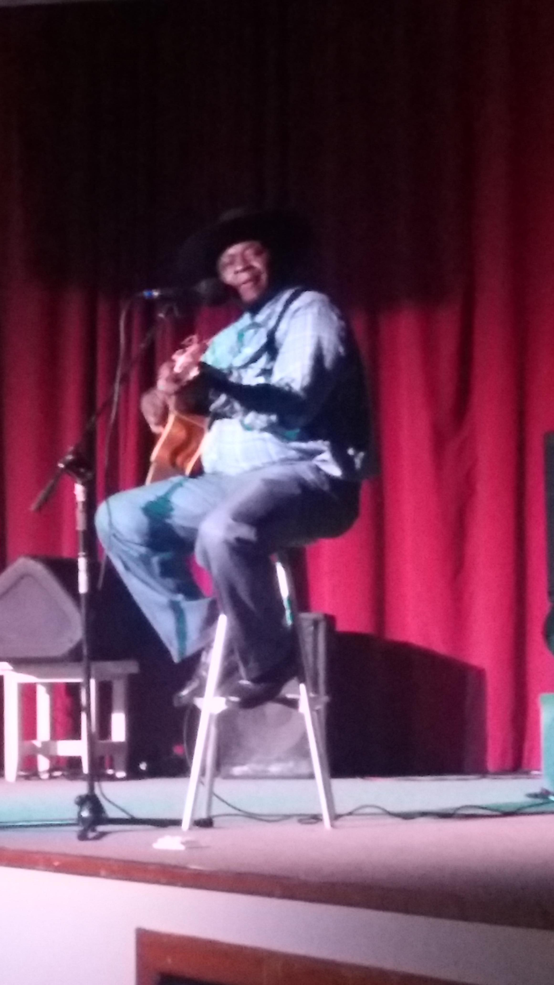 Billy Joe Neil: country night at the Patio Restaurant. Such a talented musician! Lots of Randy Travis and songs of that era.