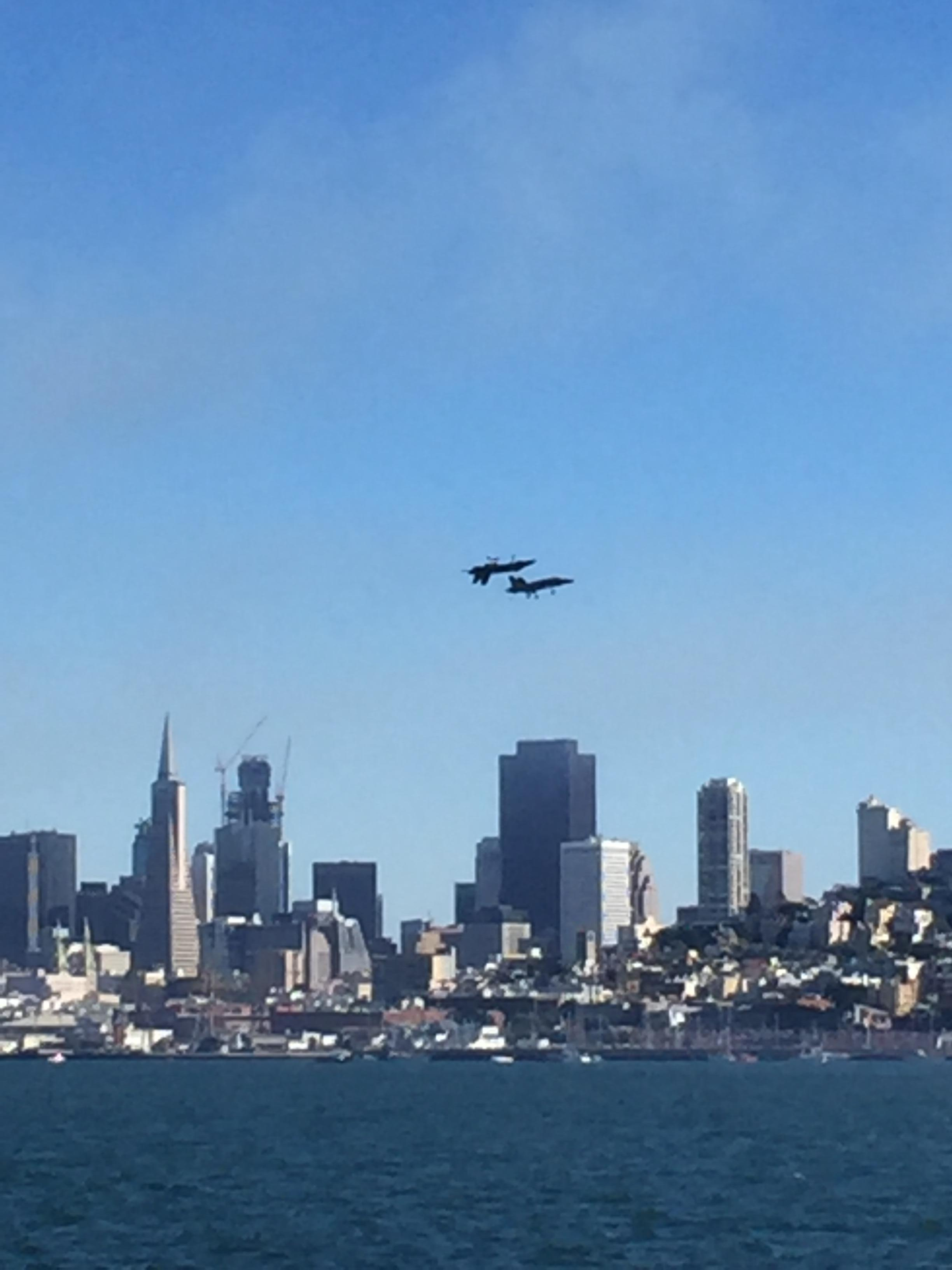 Blue Angels over the bay!