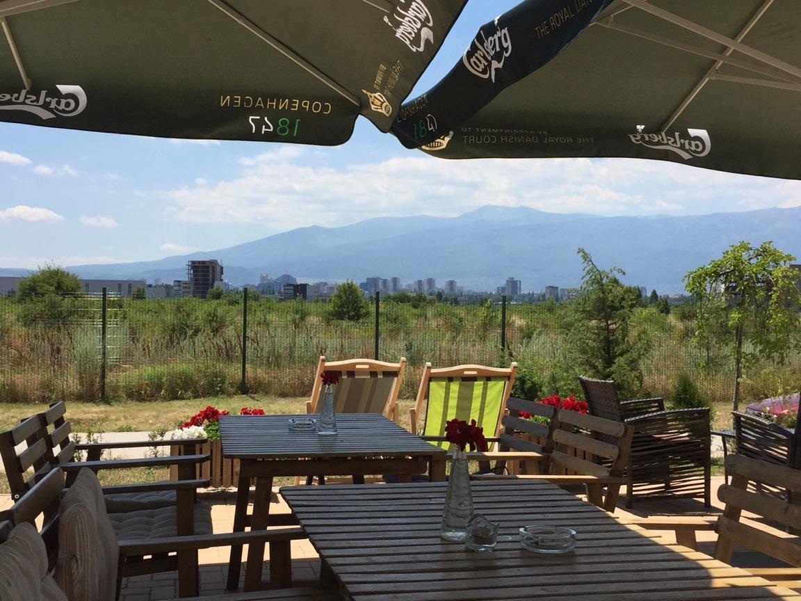 Sofia mountain views
