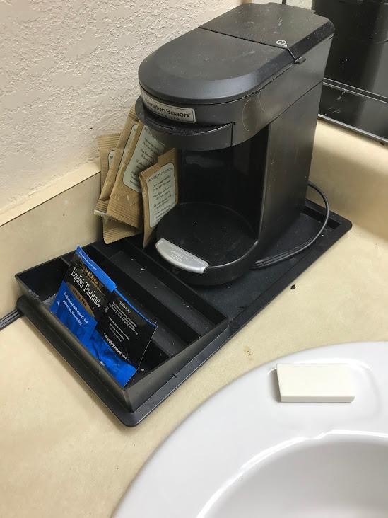 missing coffee pot