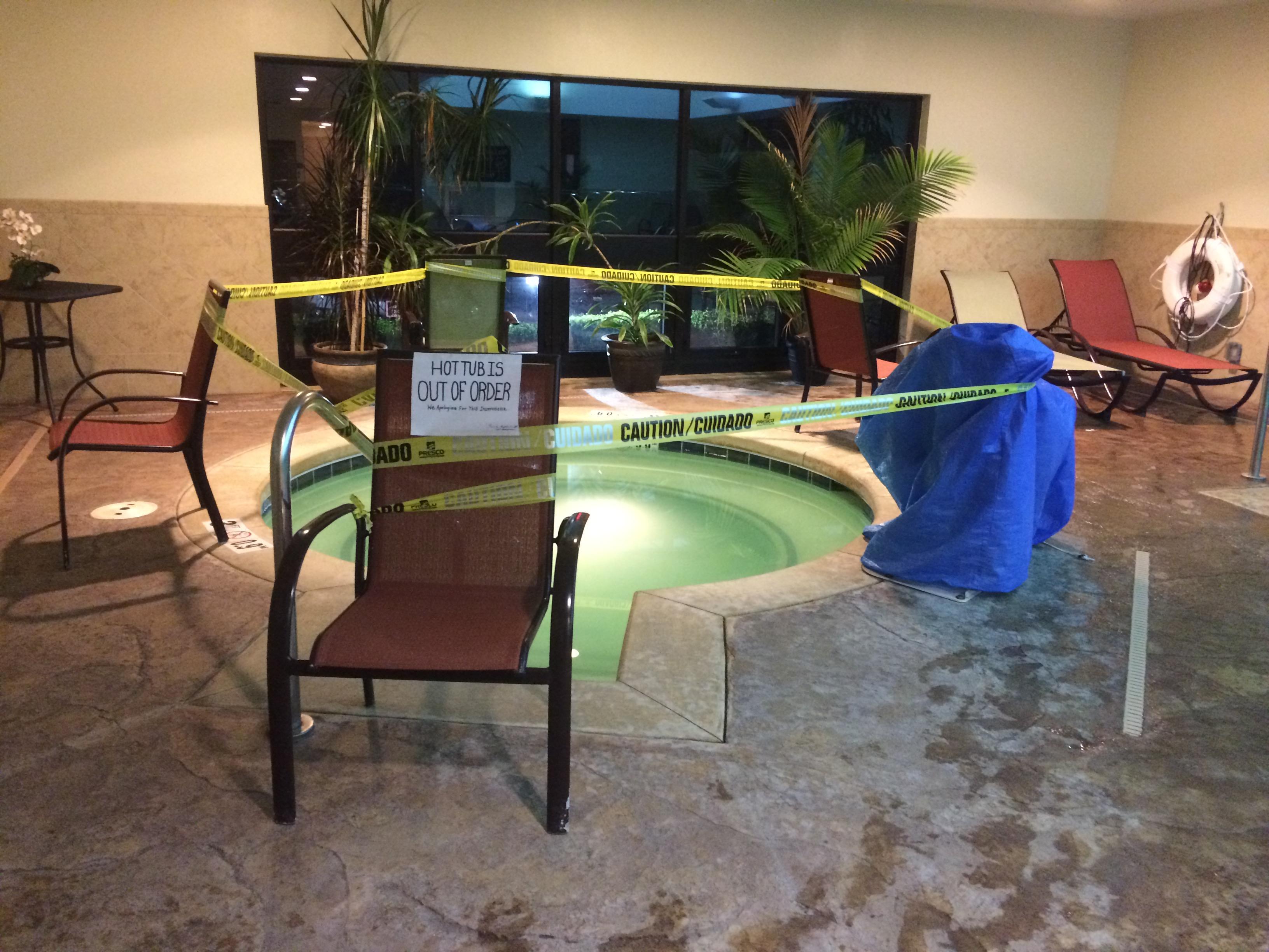 Nice pool - open until midnight