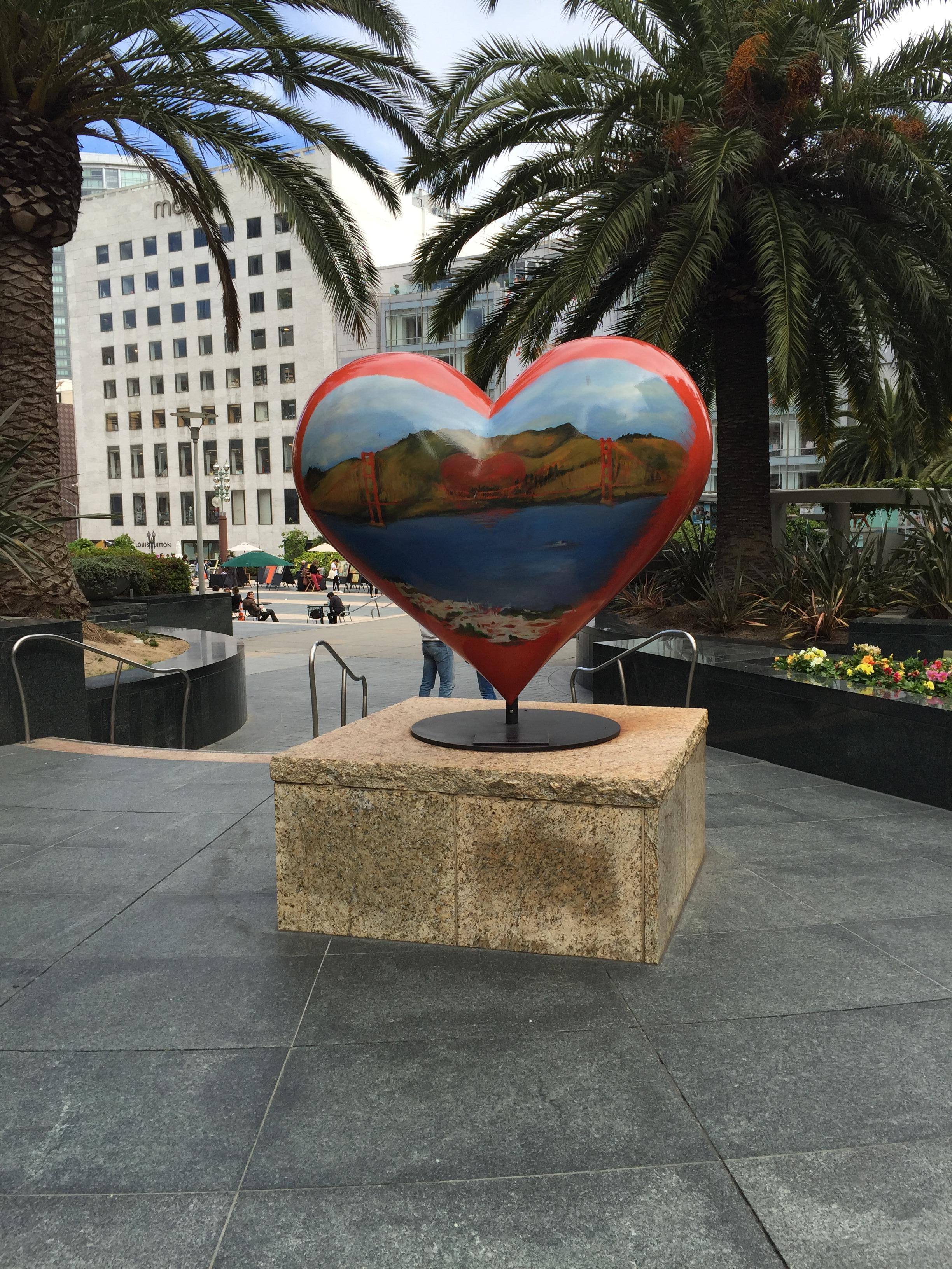 a heart of San Fran, Union Square