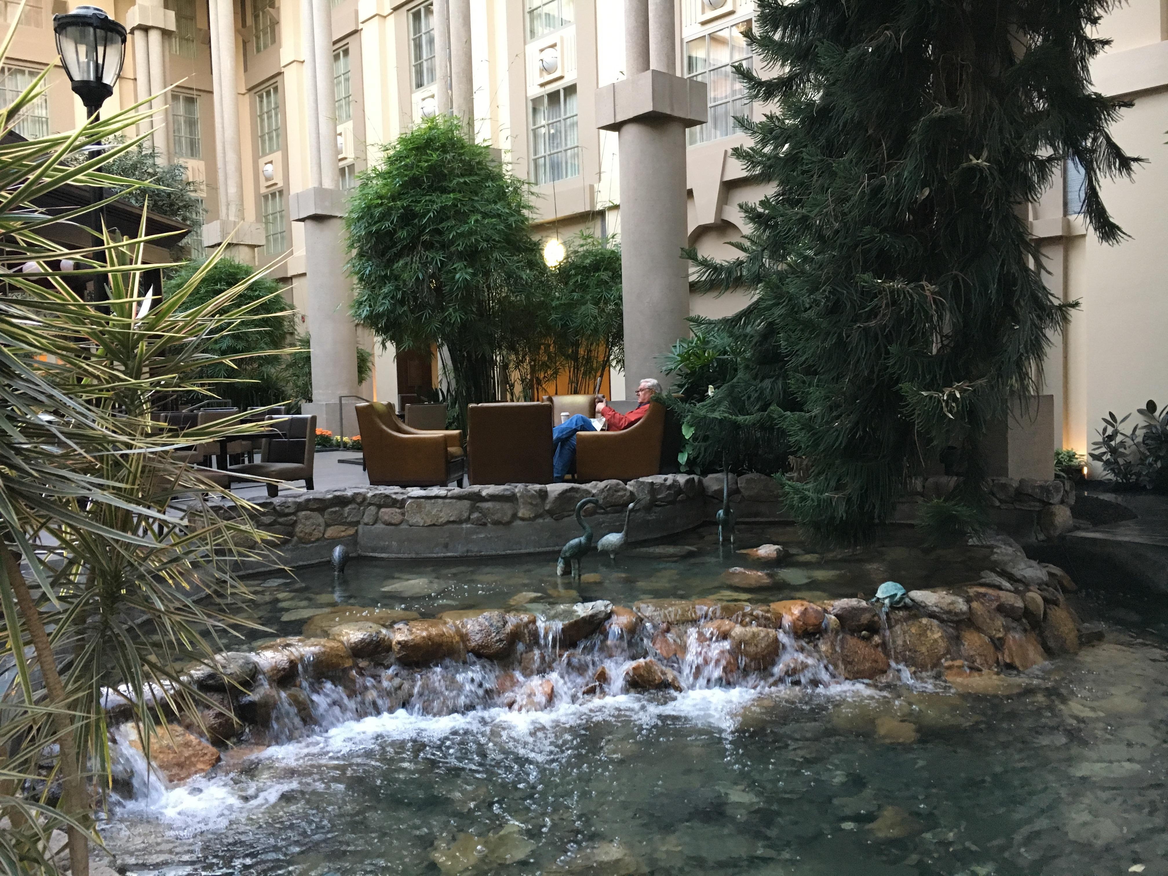 Innenbereich des Hotels