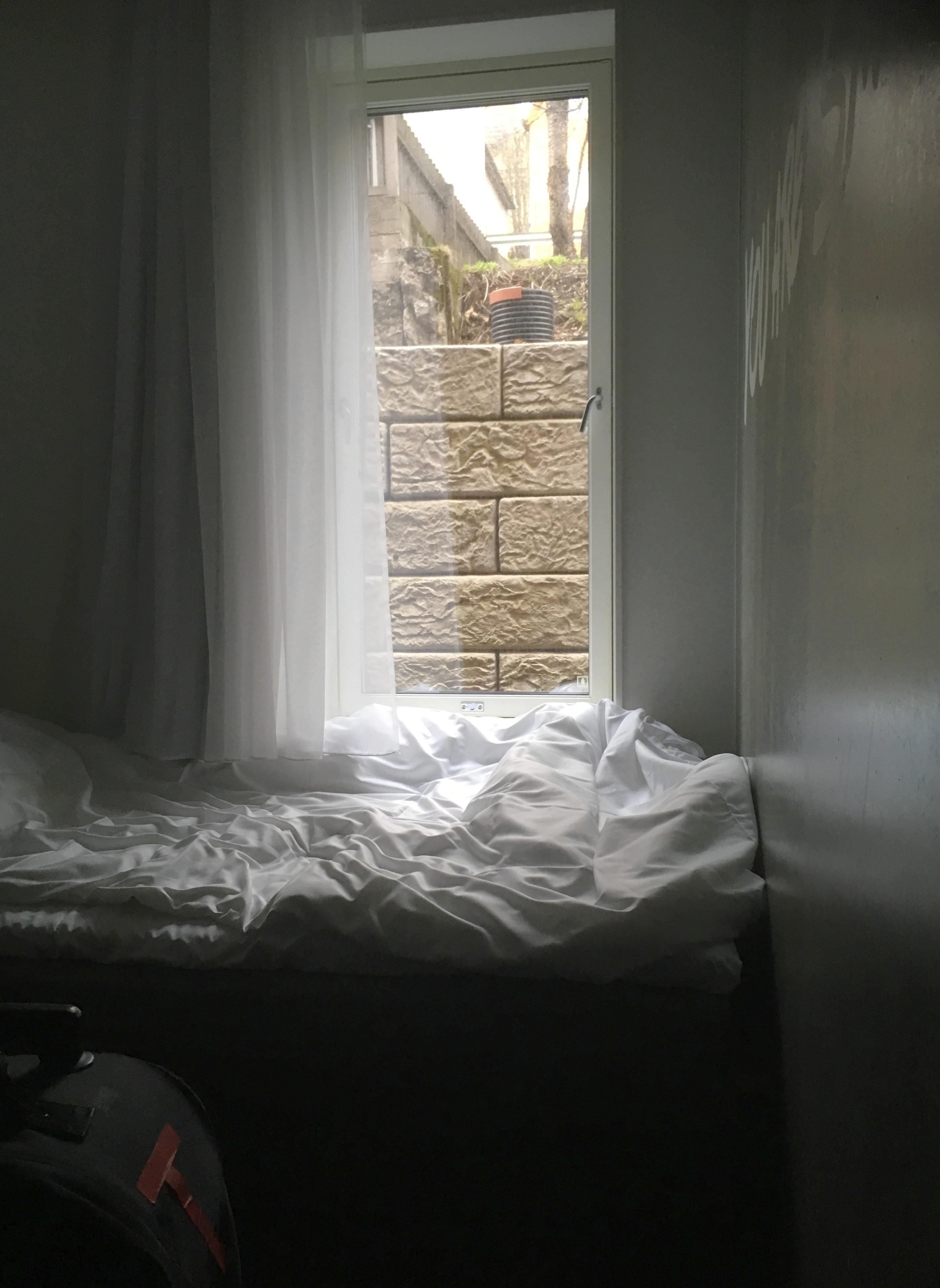 Zimmer von Türe gesehen