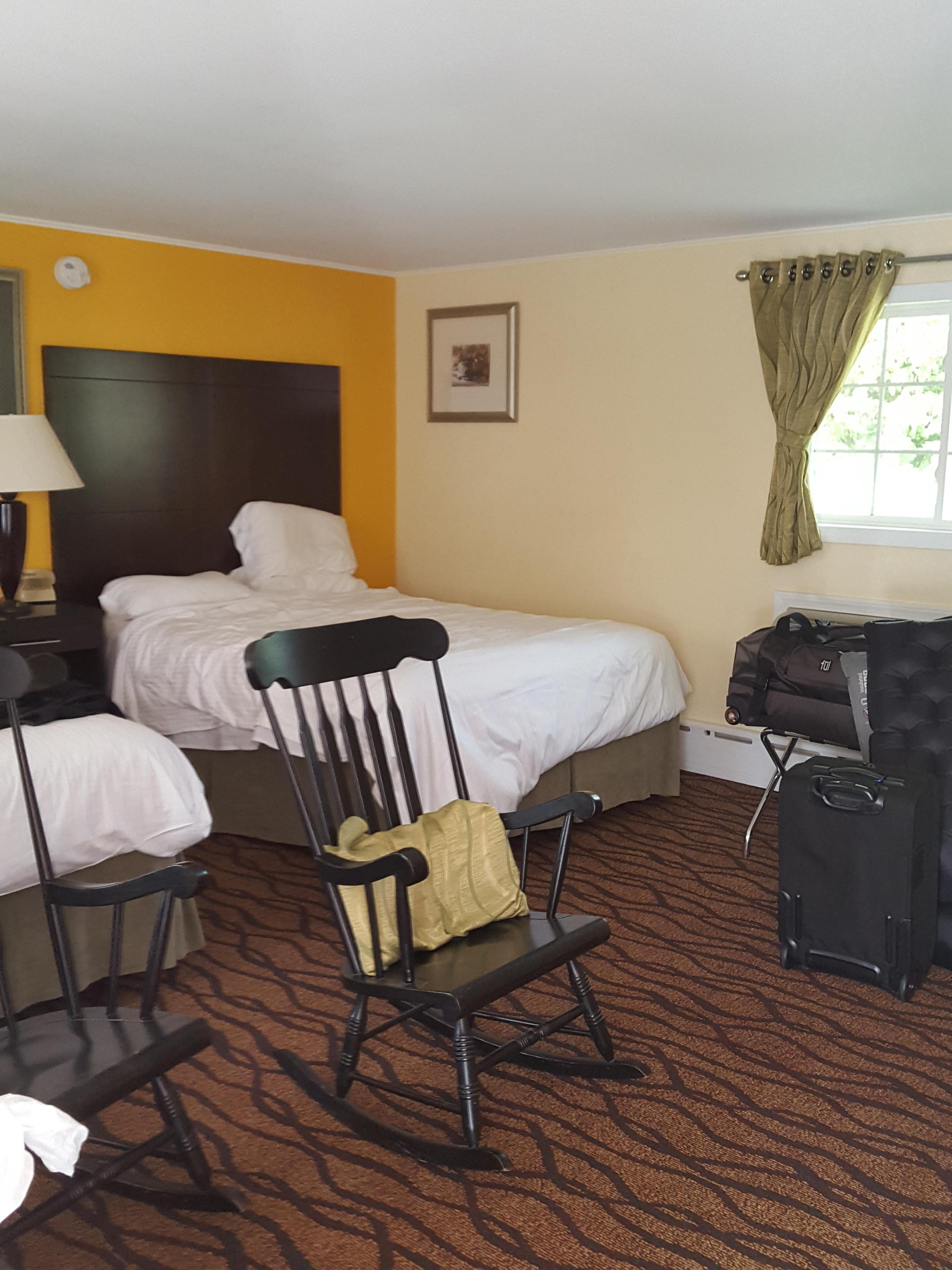 Our room with rocking chairs
