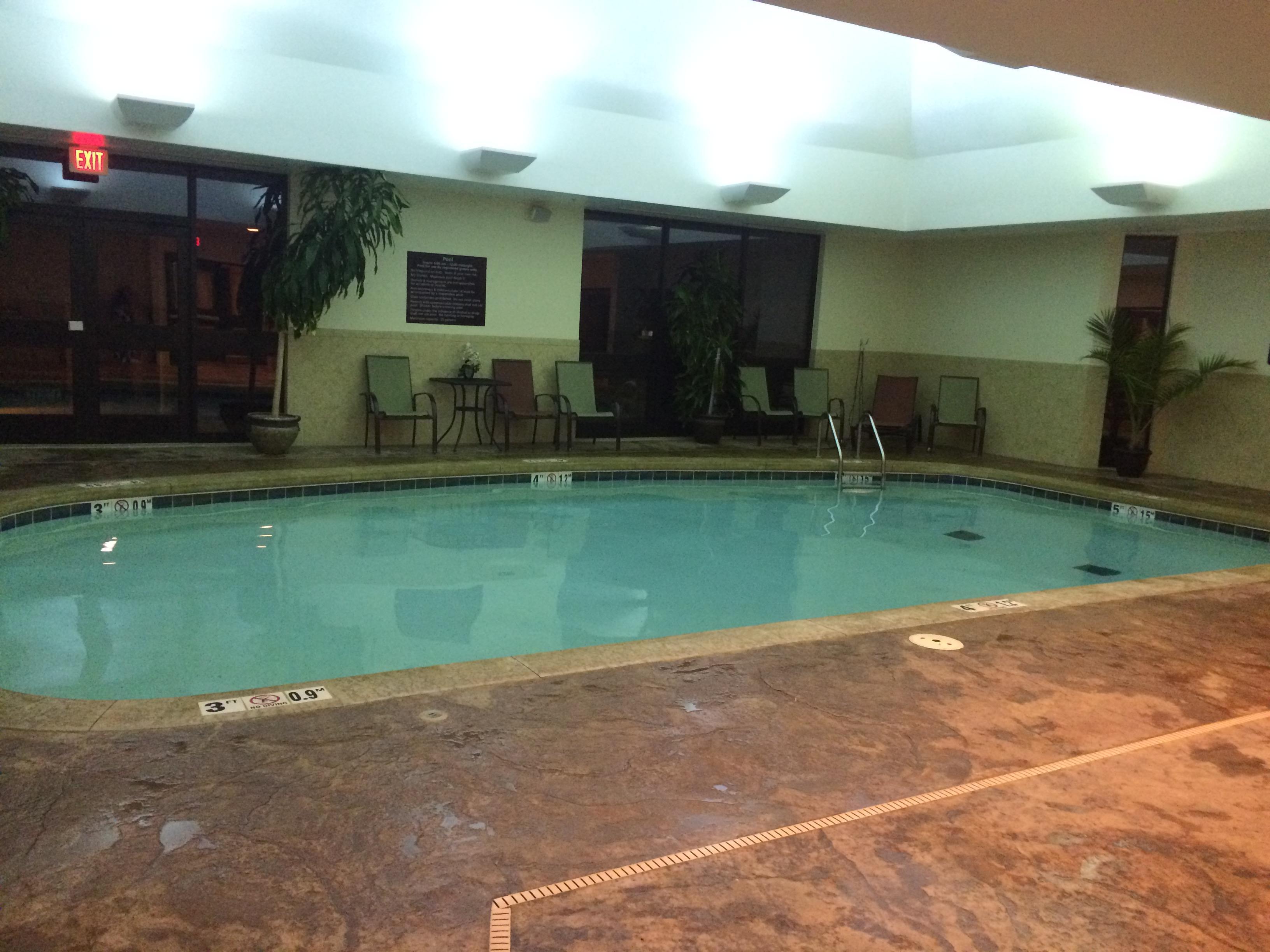 Hot tub closed July 20, 2016