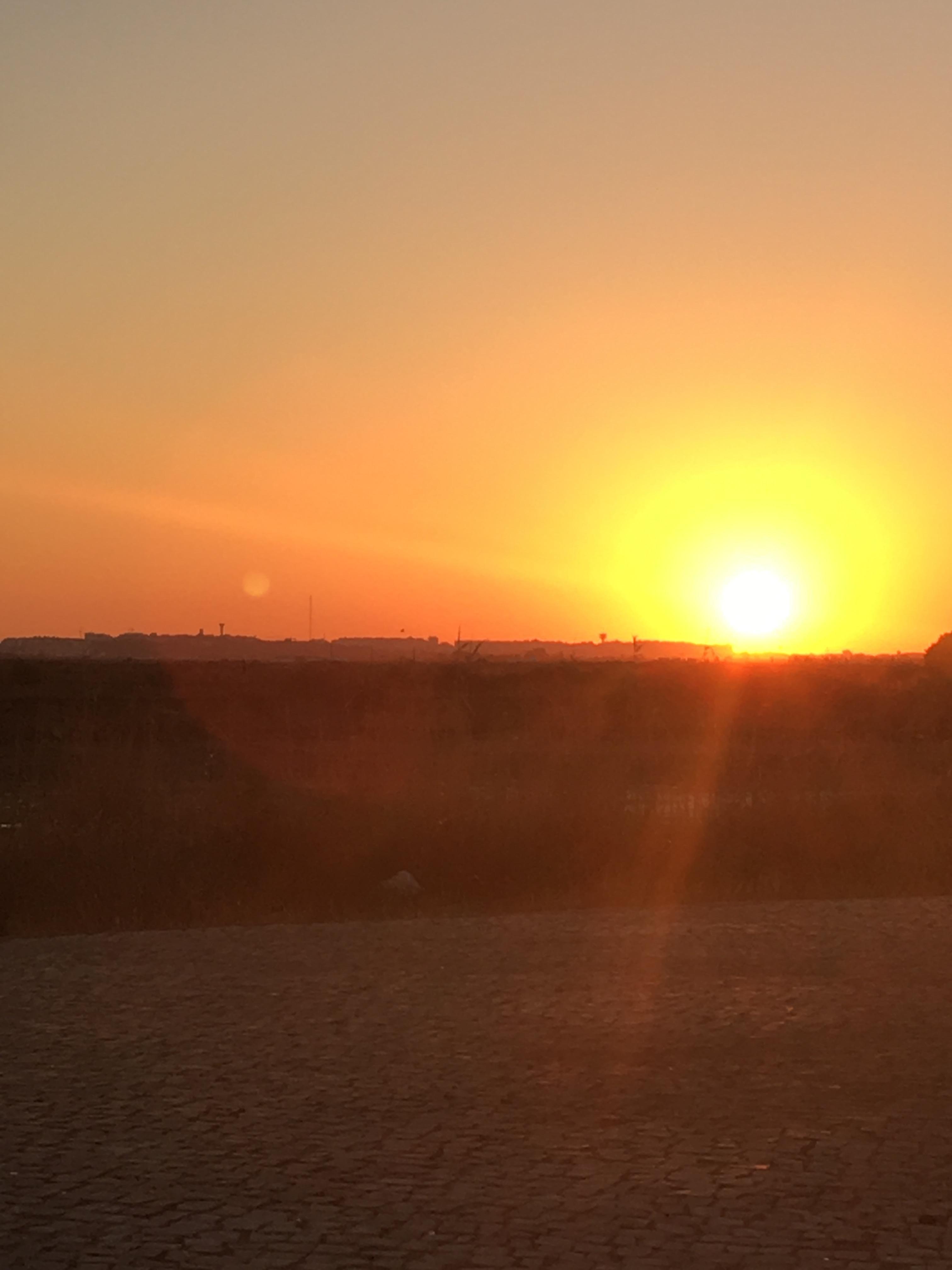Olhao sunset