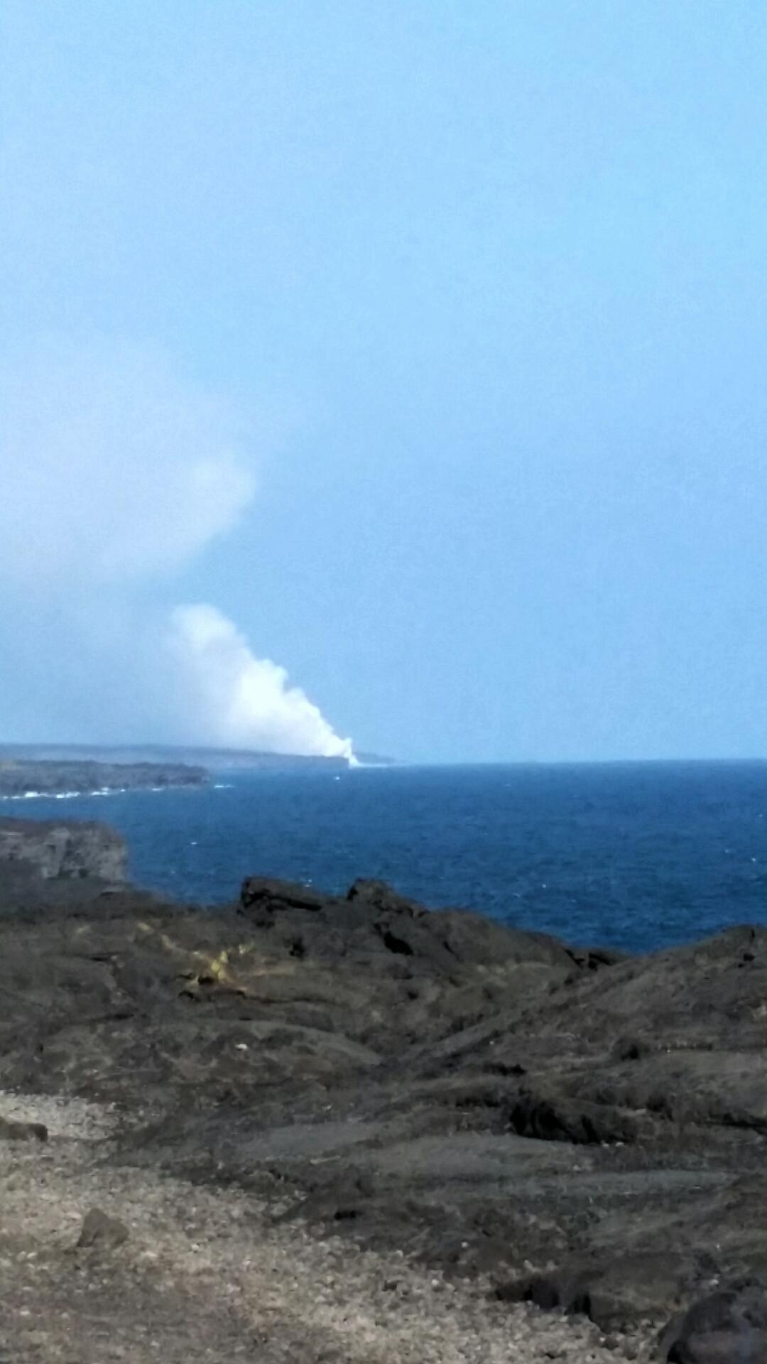 lava meets ocean Volcano Park