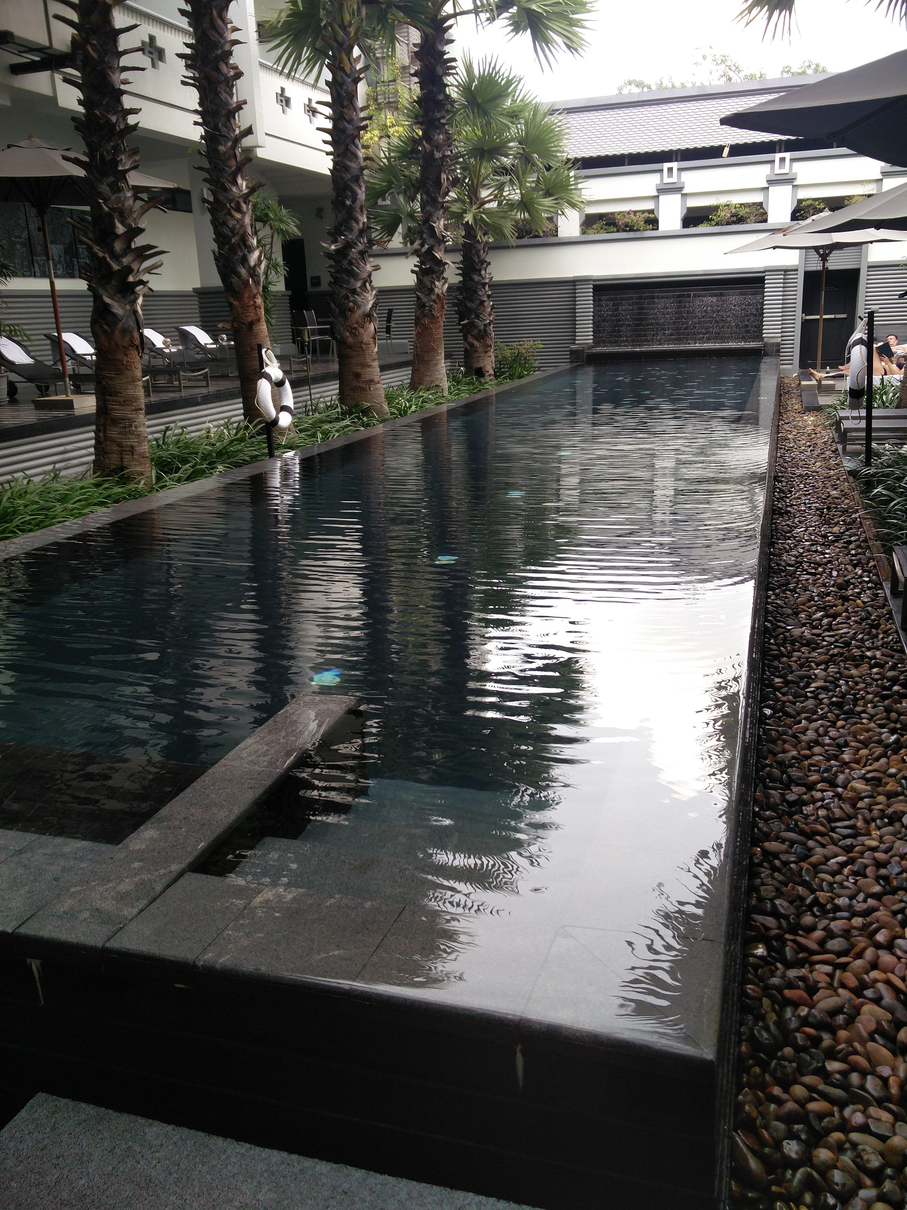 Pool on the Club side