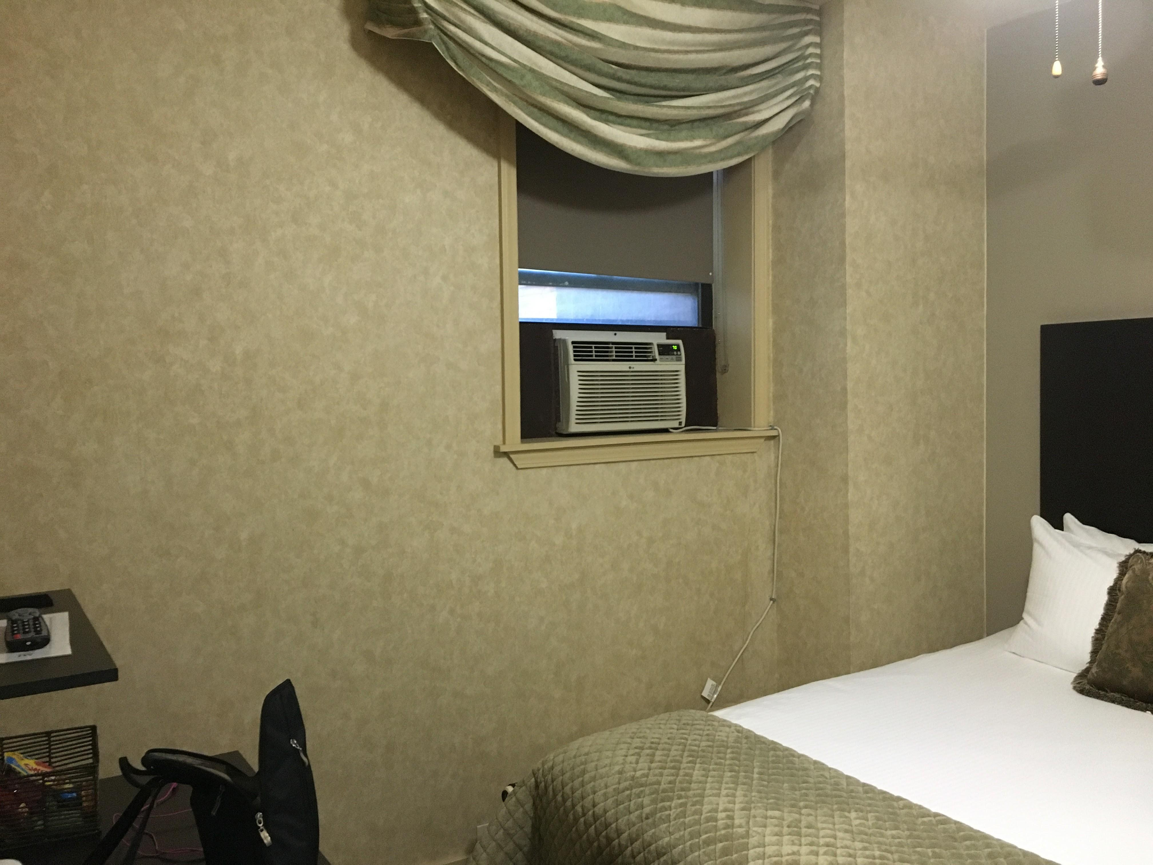 room we received