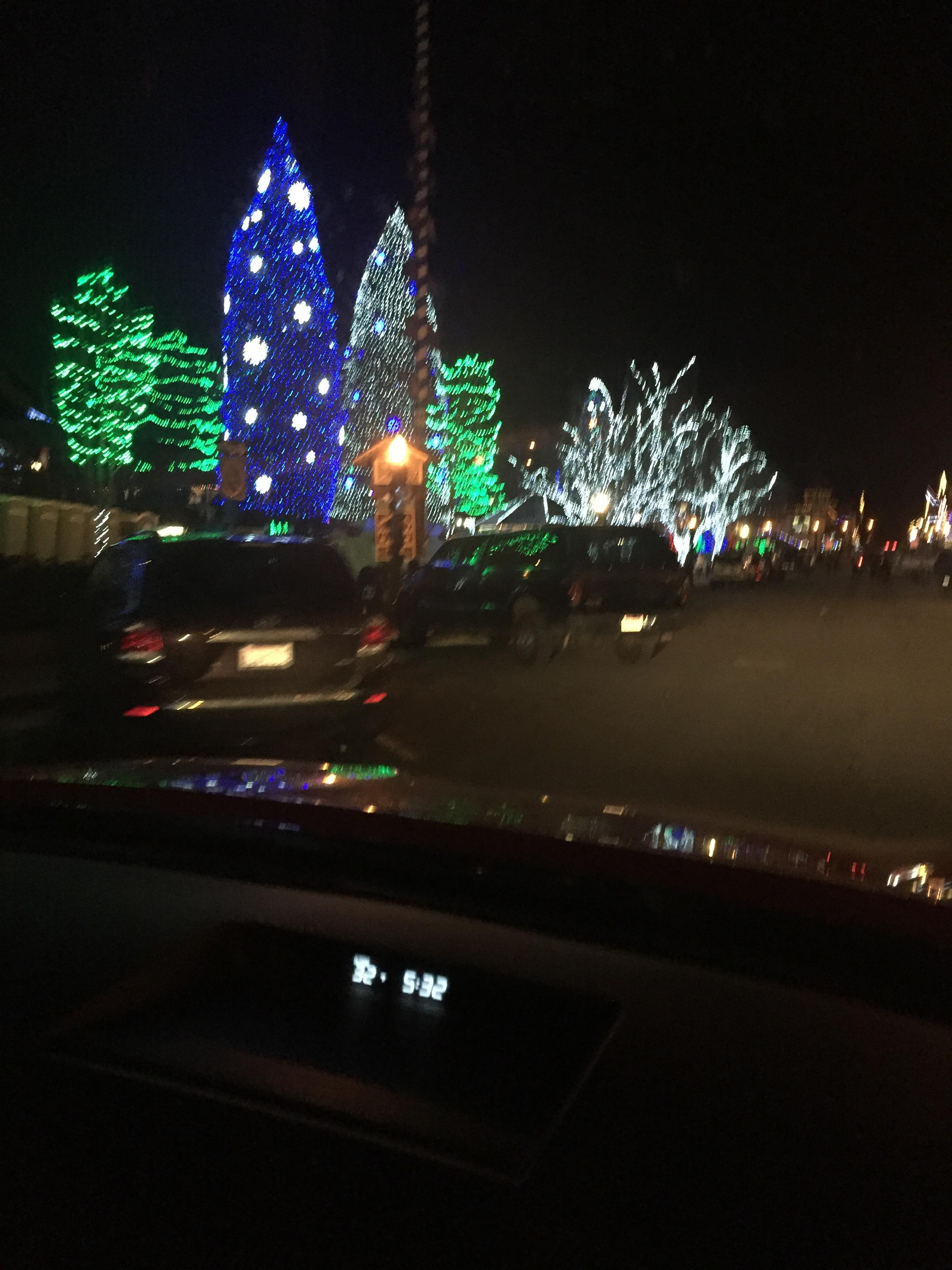 Lights at Leavenworth