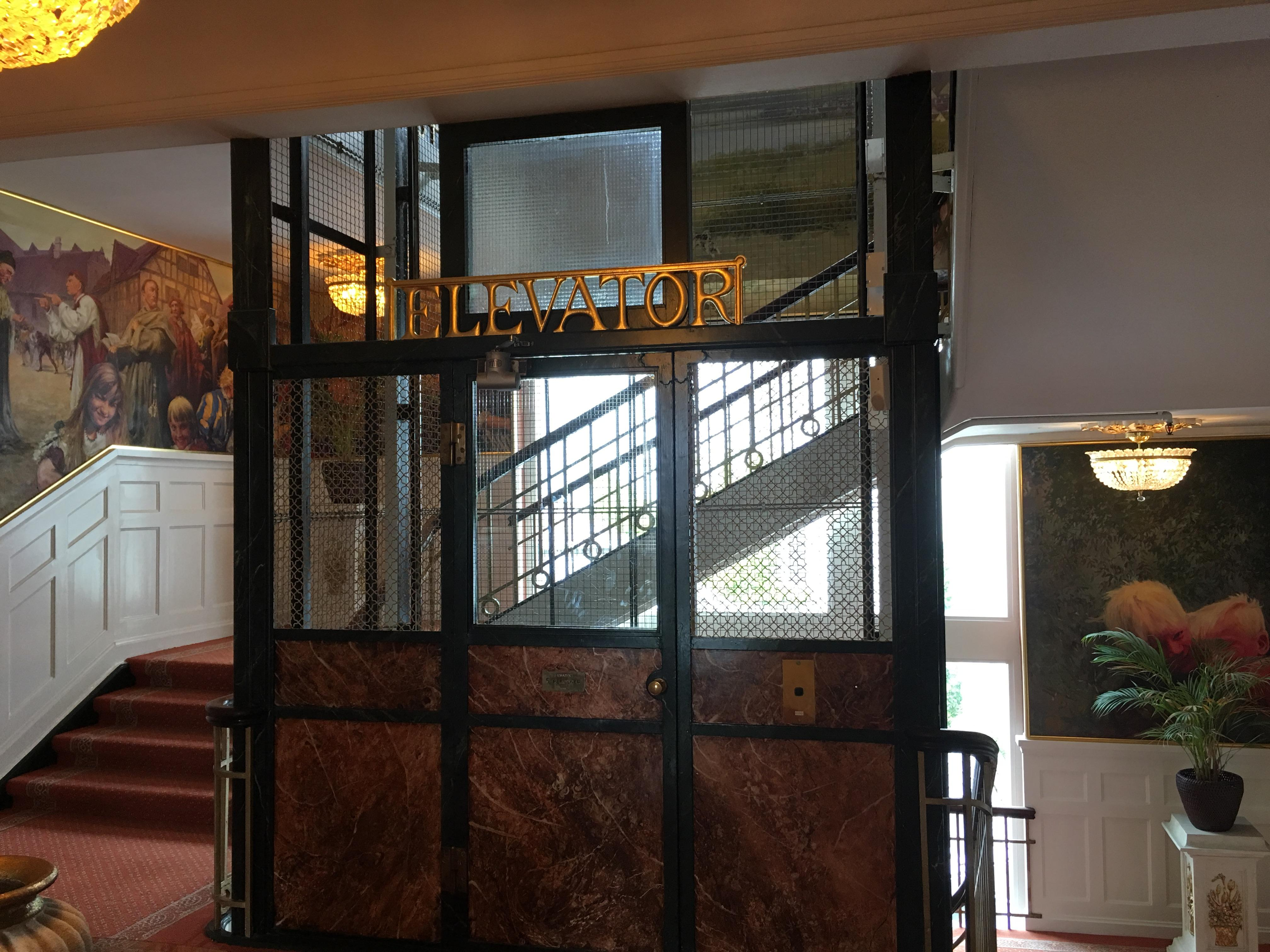 Oldest operating lift in No. Europe