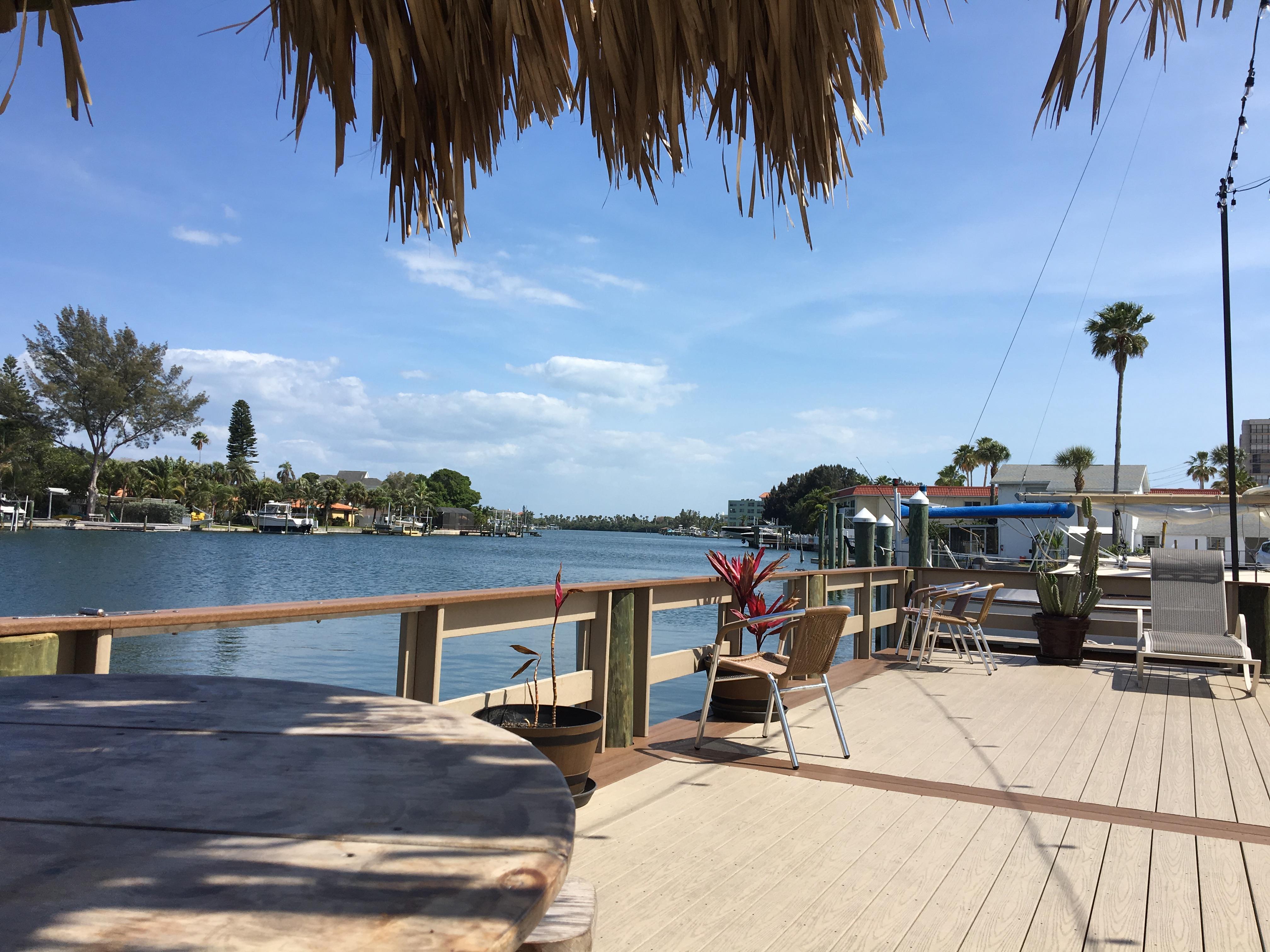 Pier at bay palms