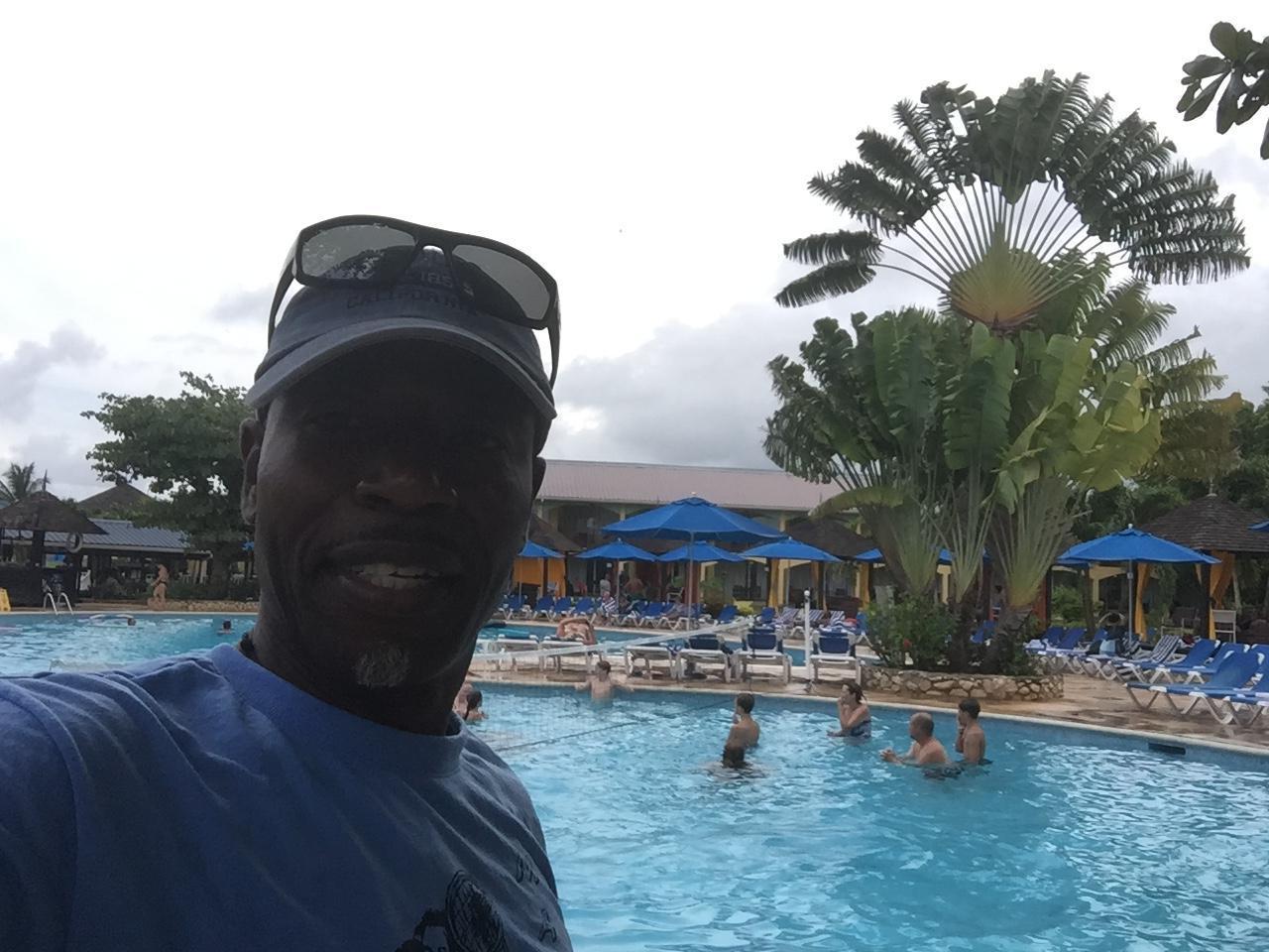 Enjoying time at Resort