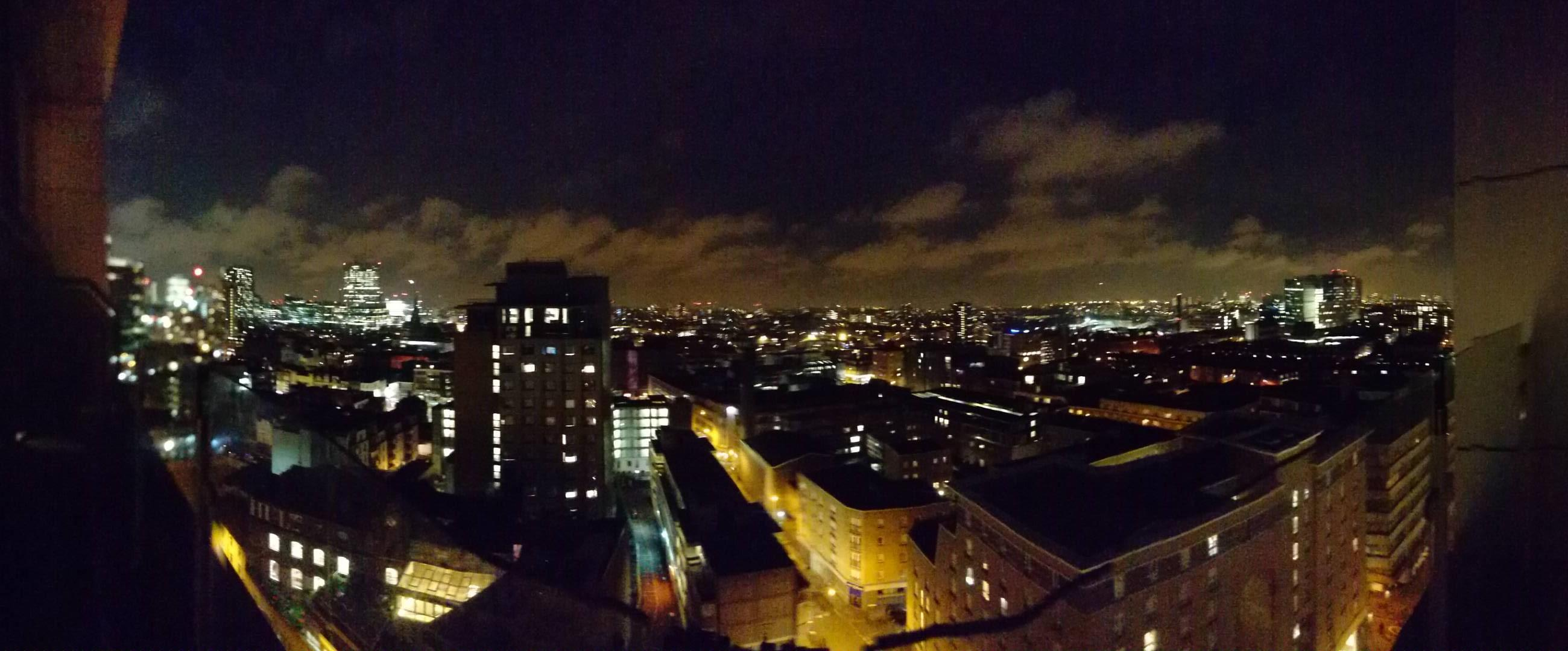 Room 92 Penthouse Balcony View (City of London to left)