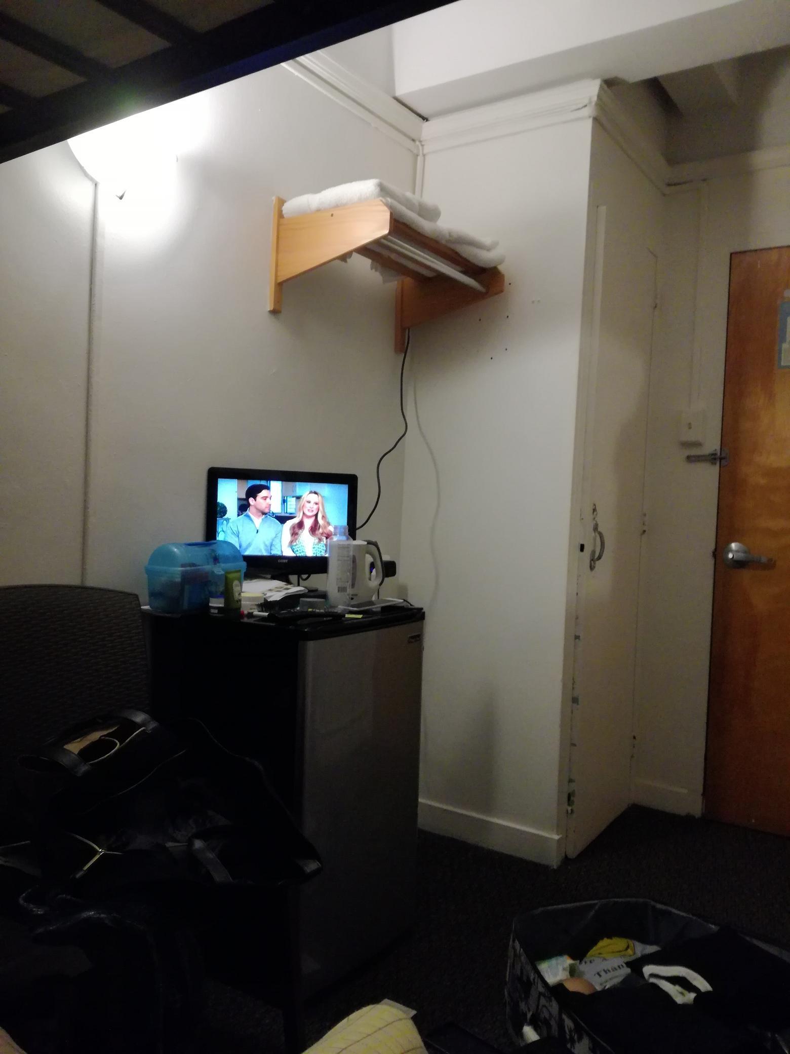 TV and refrigerator