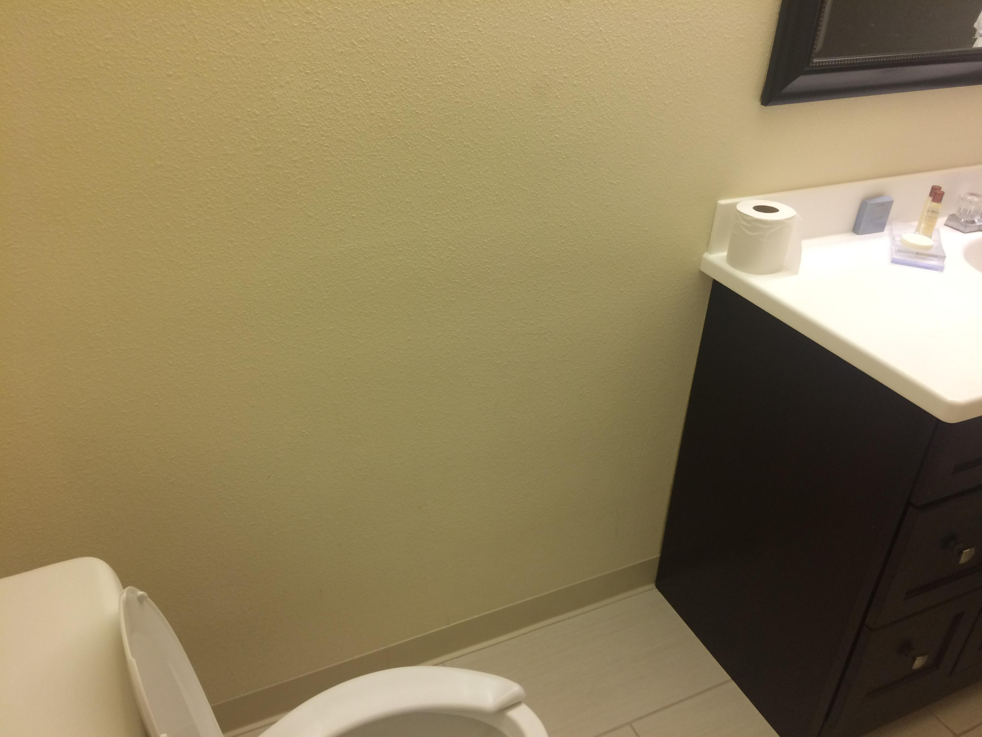 Closet in the bathroom area and the only hook is that loop on the door which is for one towel