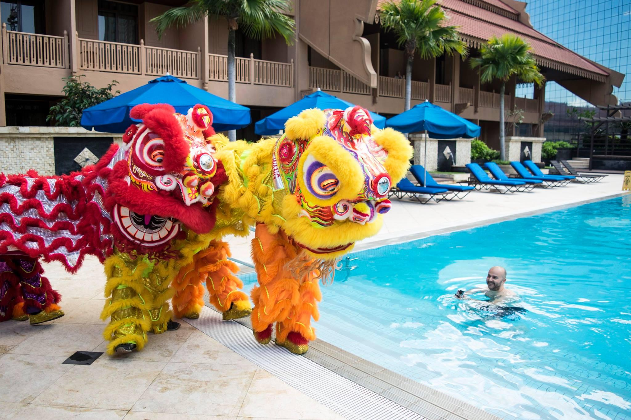 The Lion Dancers @ Pool