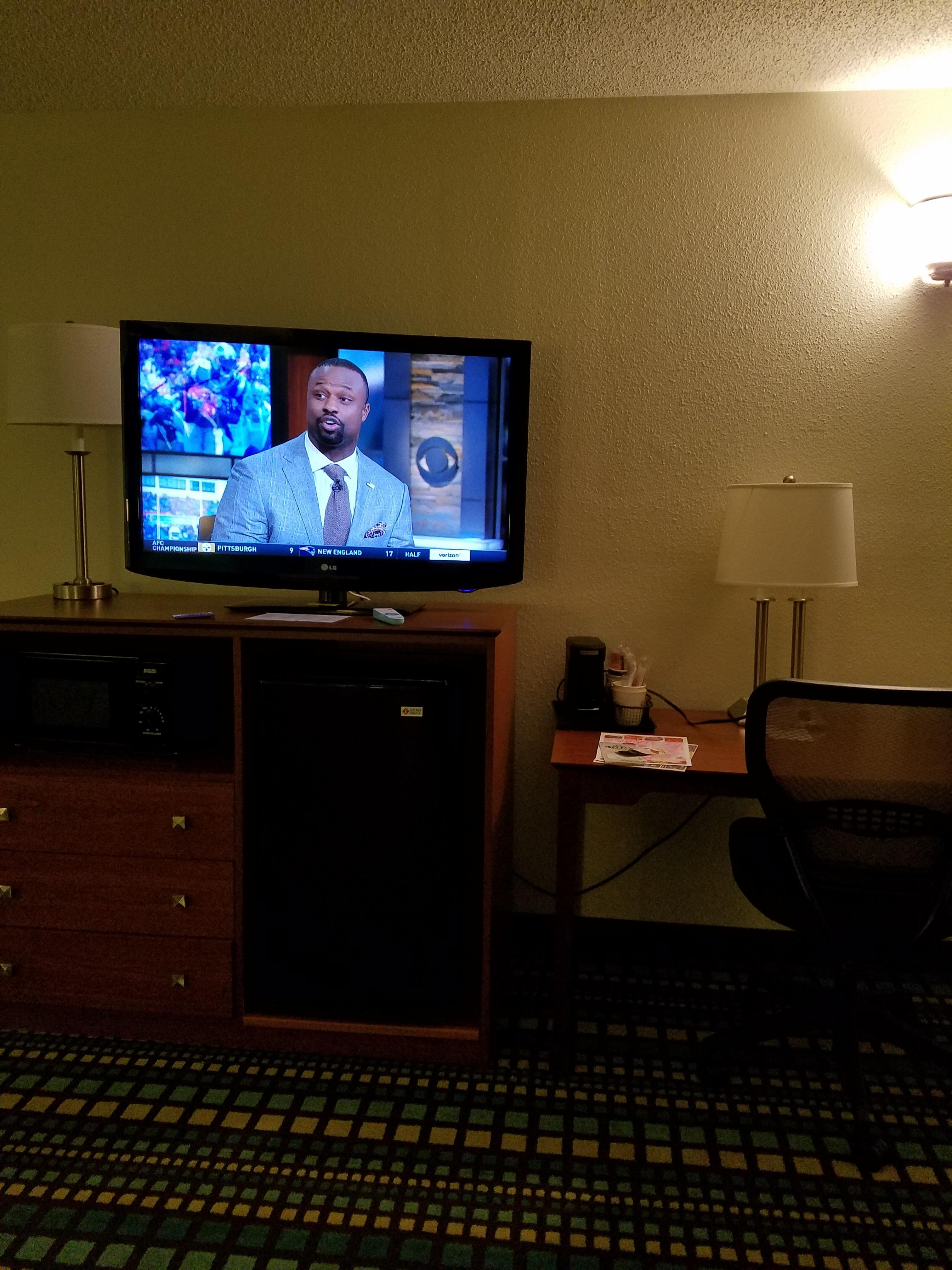 Cable and big tv