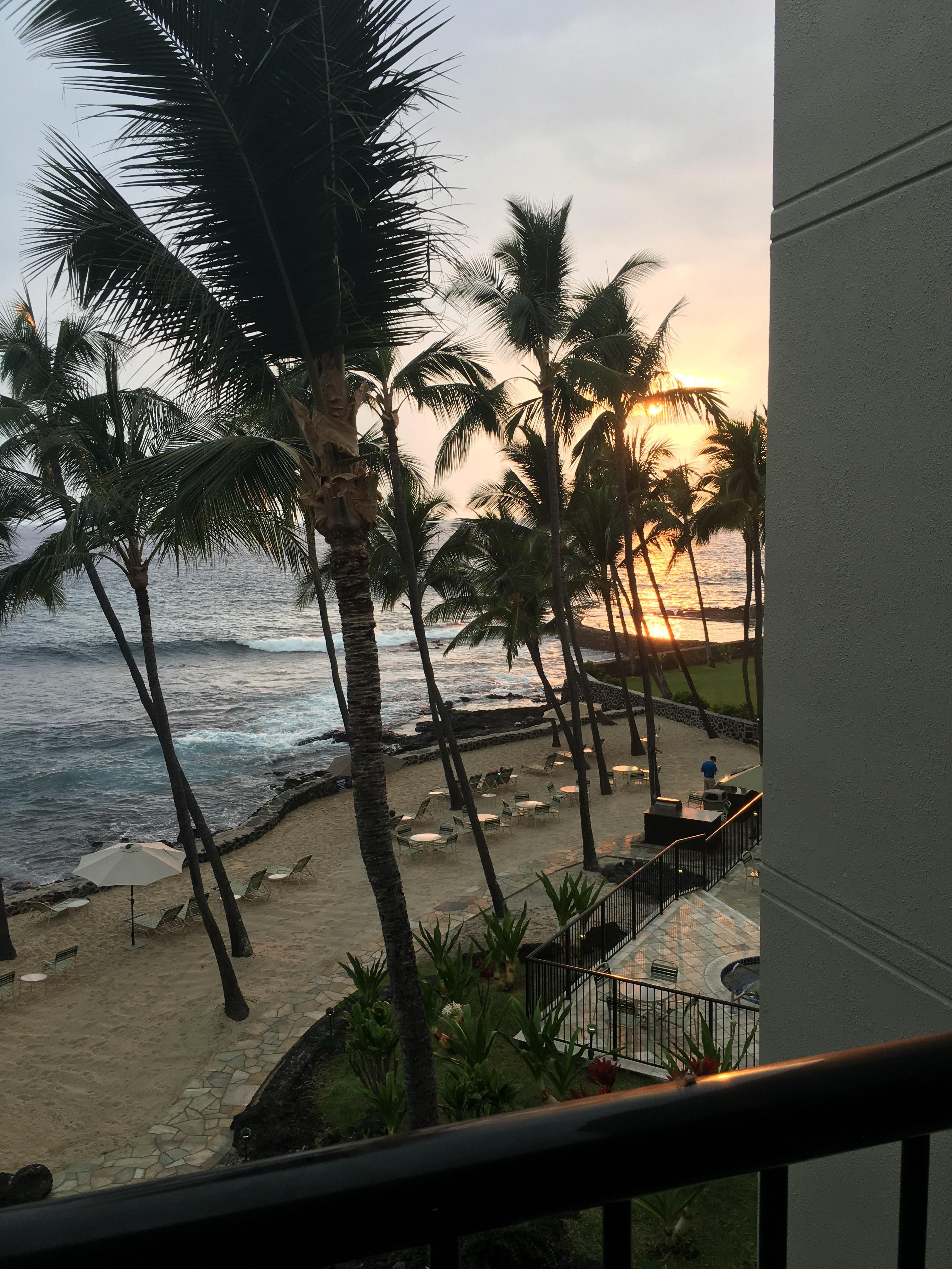 Paradise from private lanai