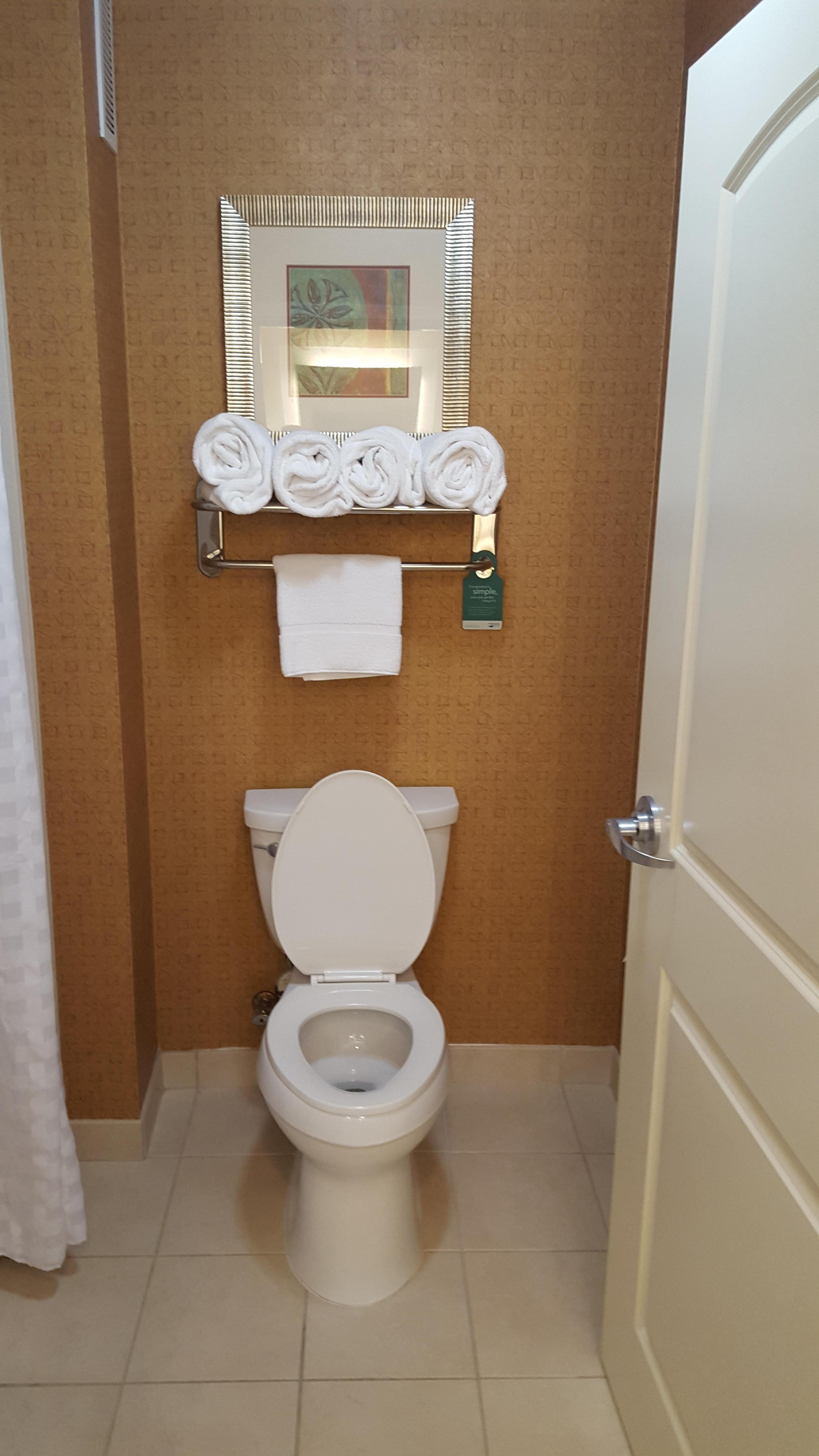 Bathroom was nice