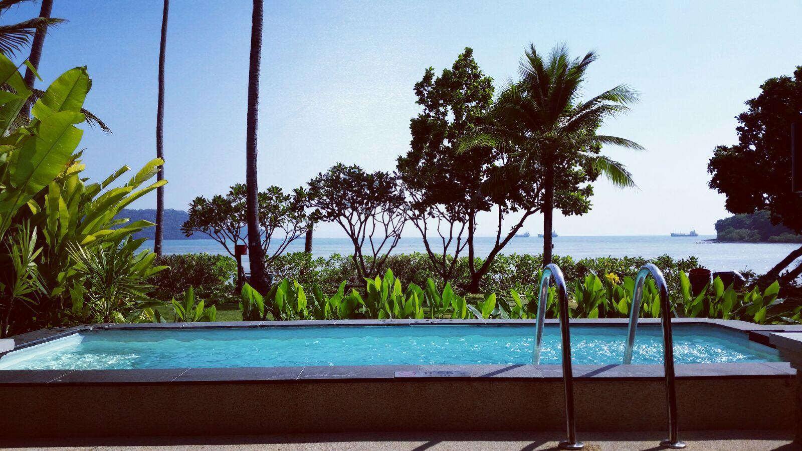 My pool villa view Room 8032