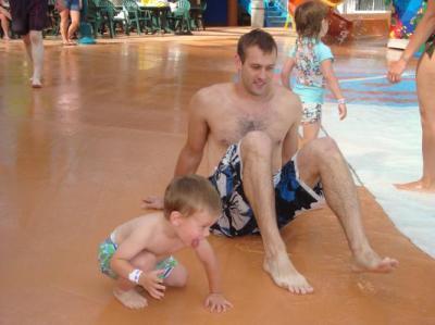 father/son bonding