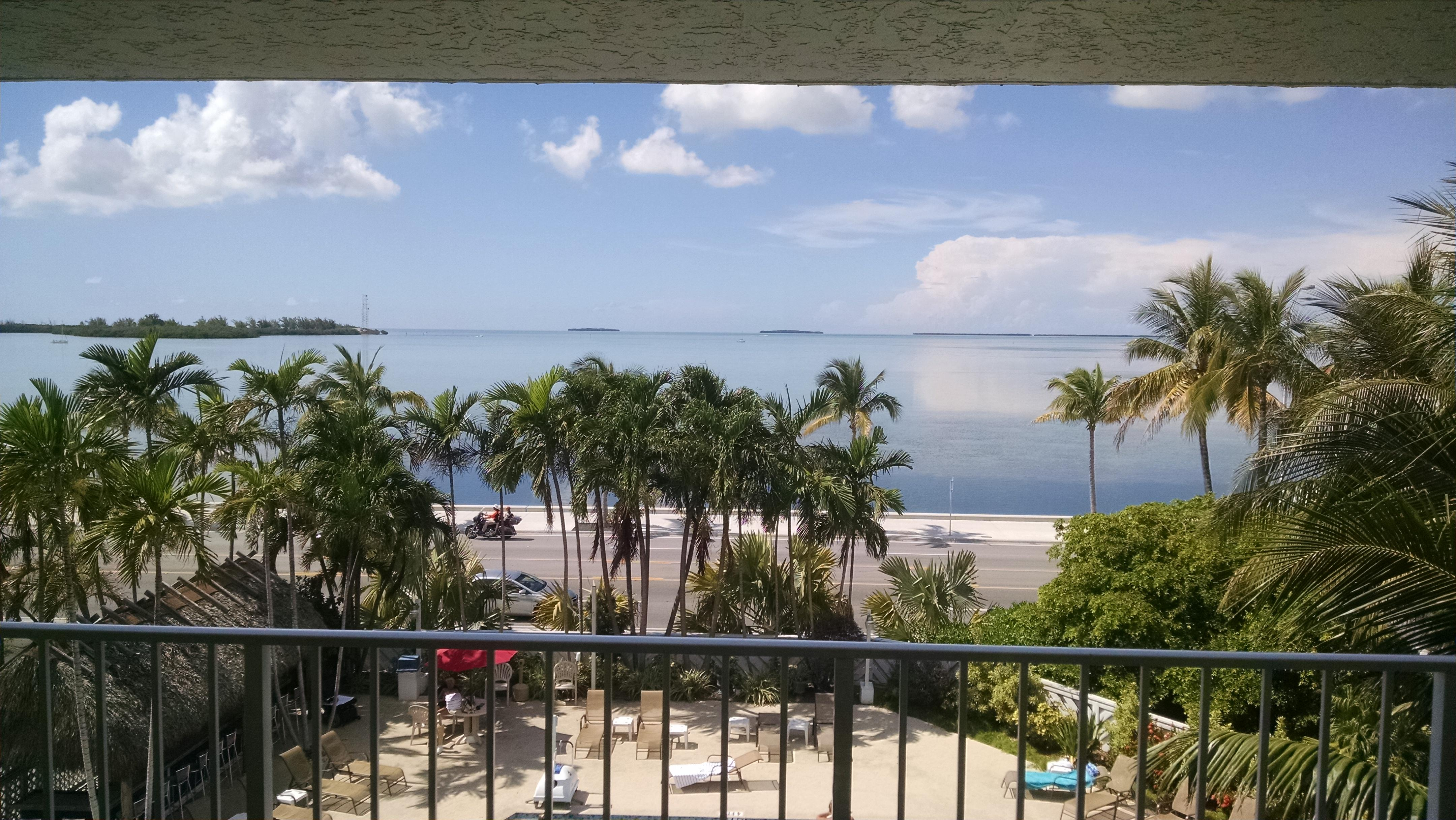 My view from the balcony