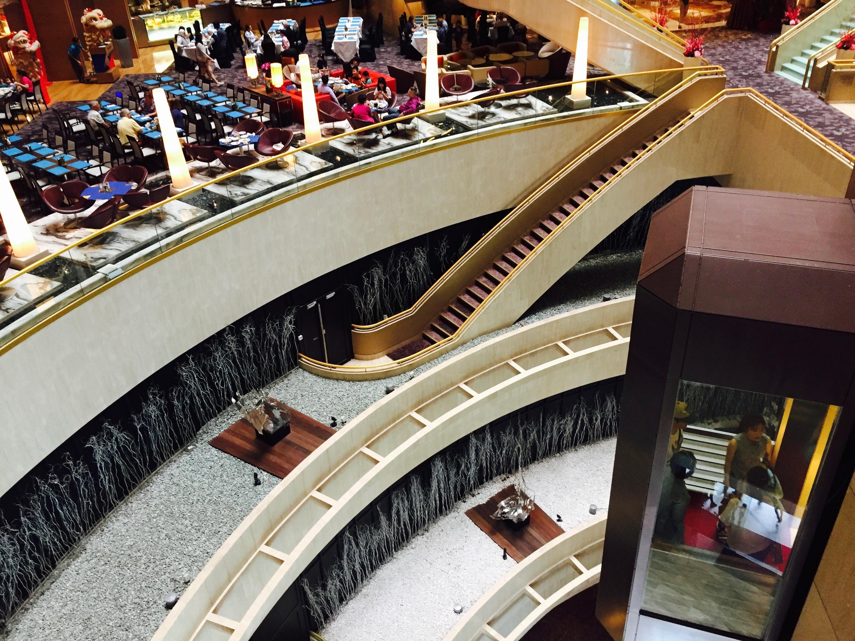 Stair to Marina Mall