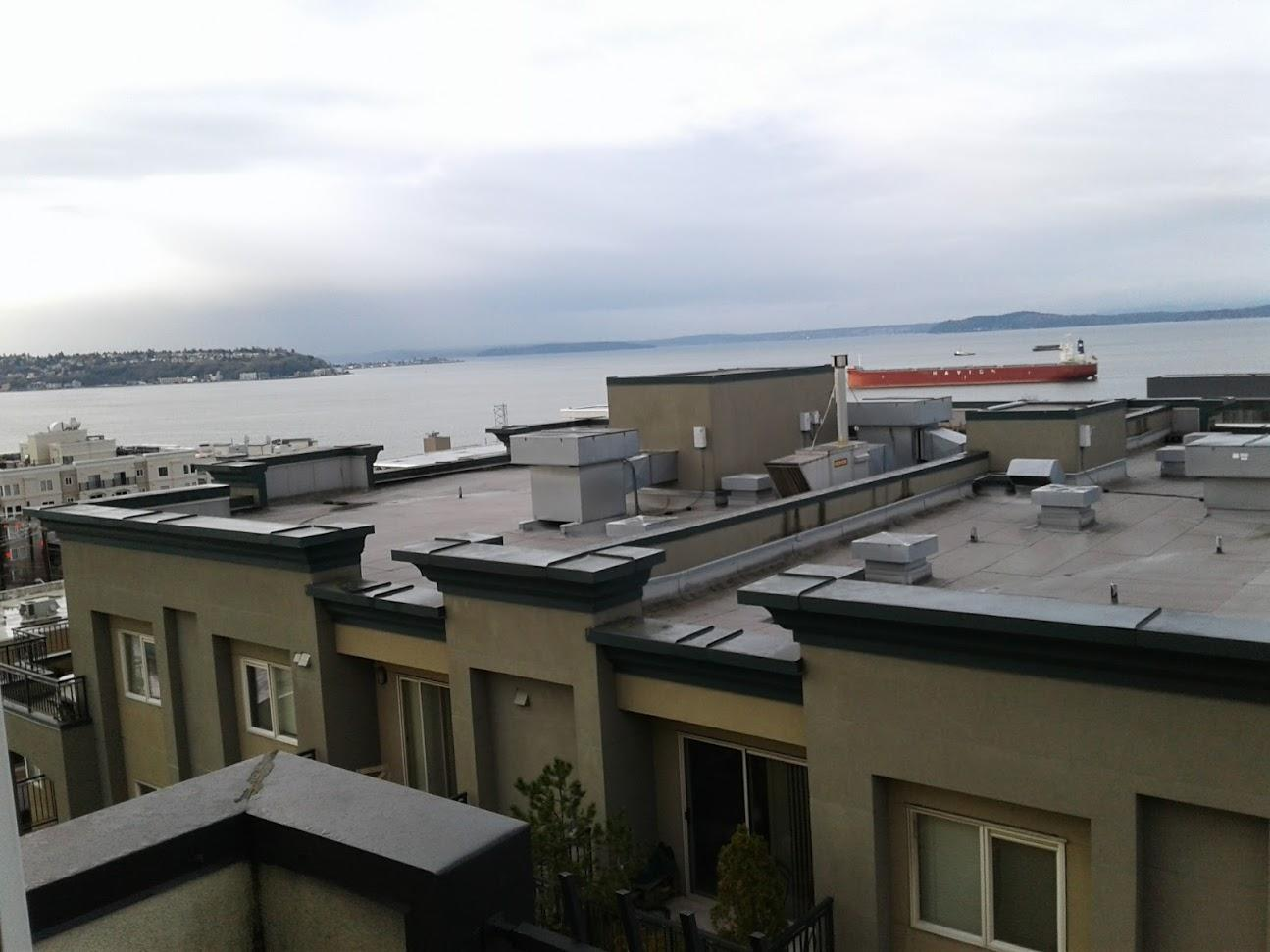 View of Queen Anne Hill from Room