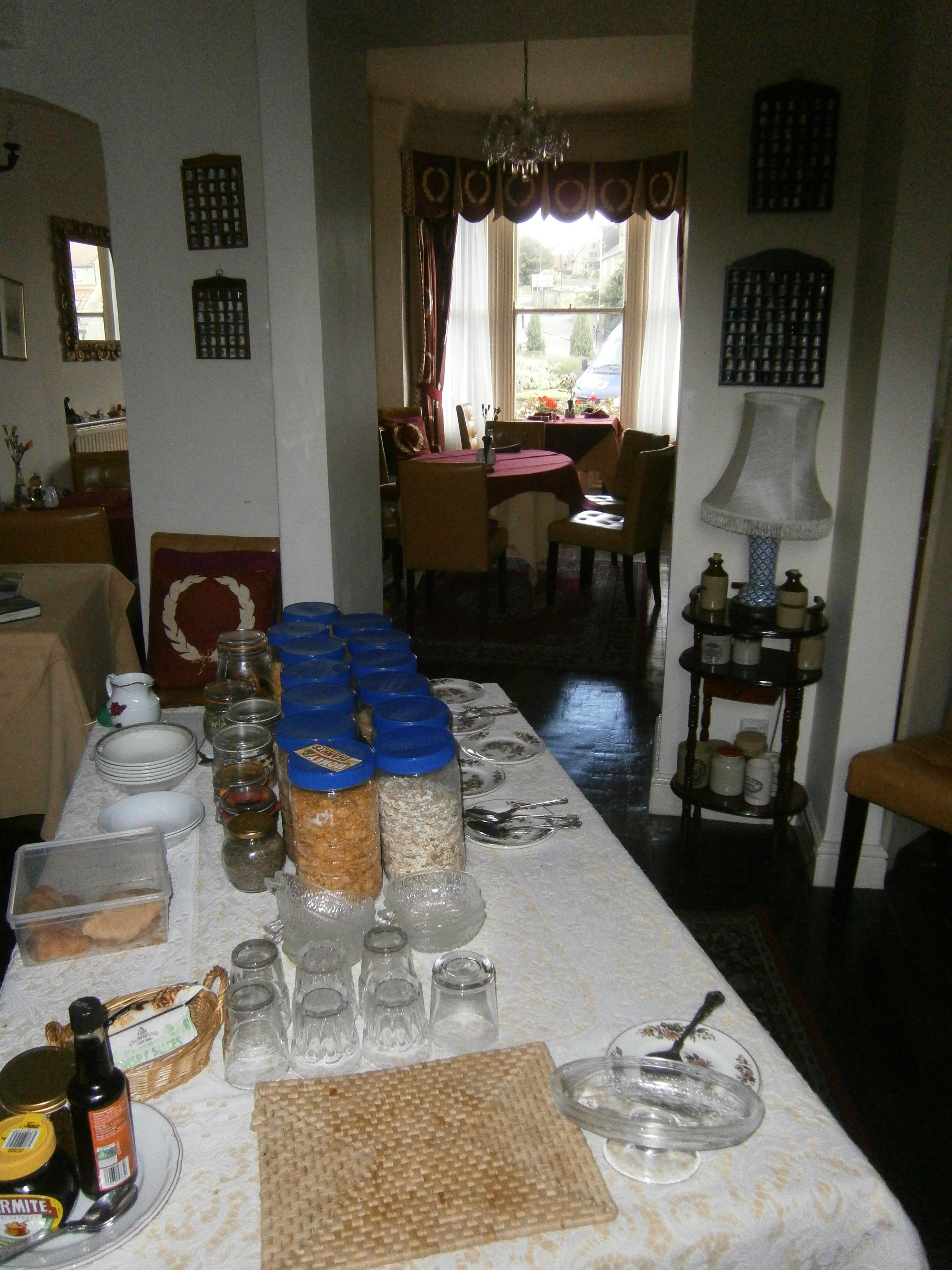 Breakfast Table through to Dining Room