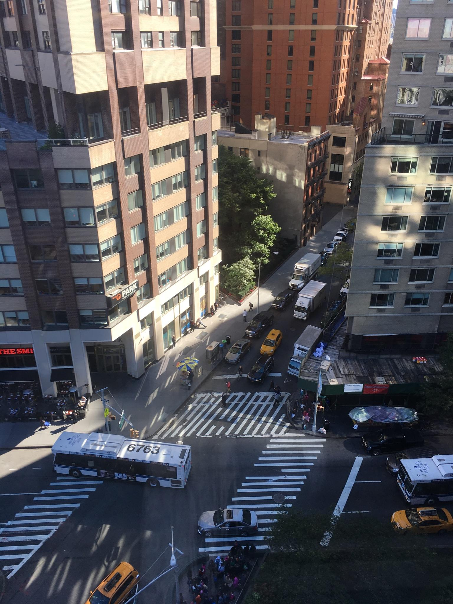 Street from the 9th floor