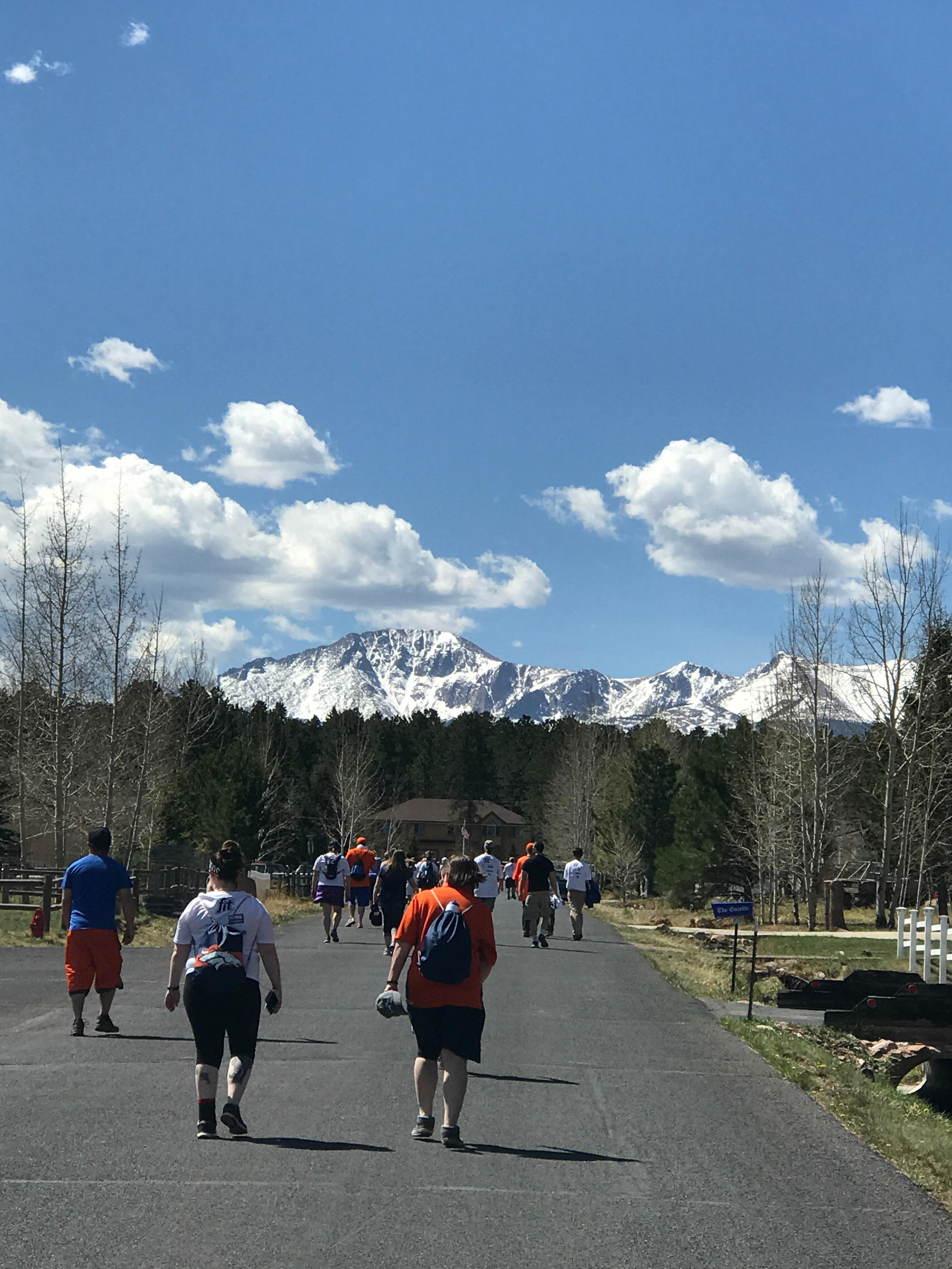 Broncos 7K what a view!