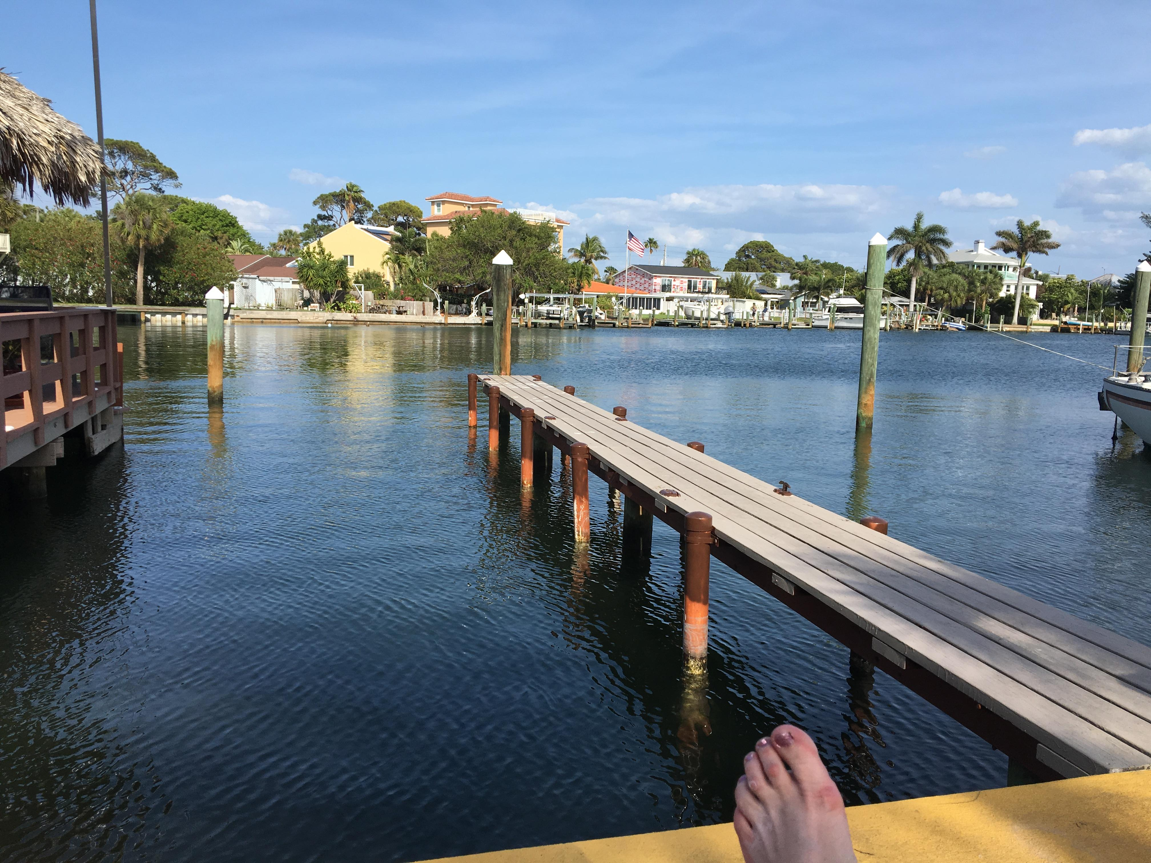 Another relaxing day at bay palms