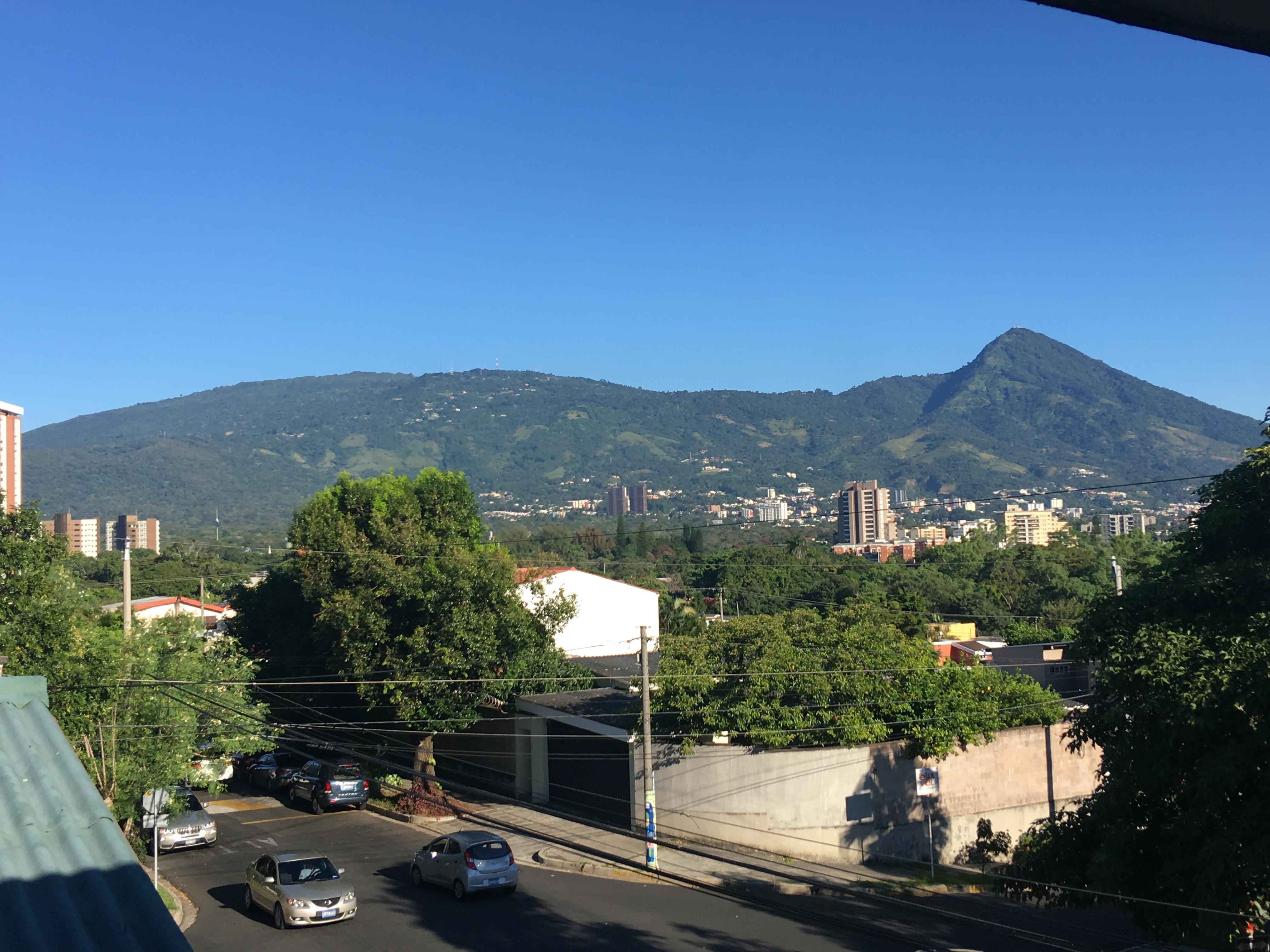 View to Volcan San Salvador