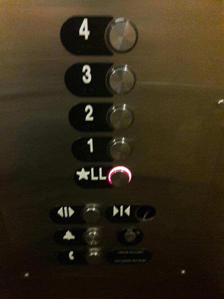 Missing button