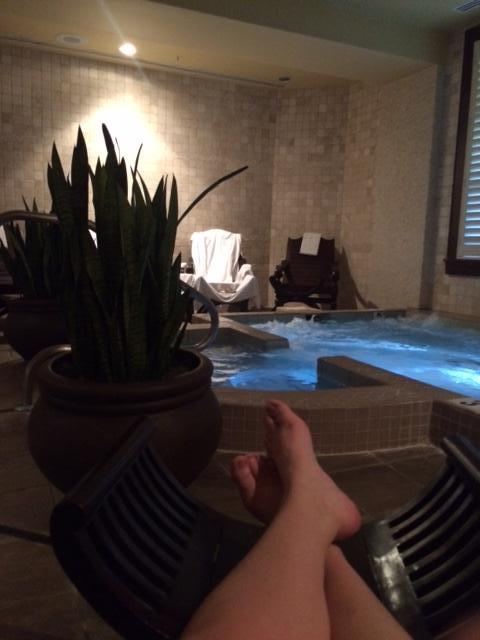 Relaxing Spa whirlpool