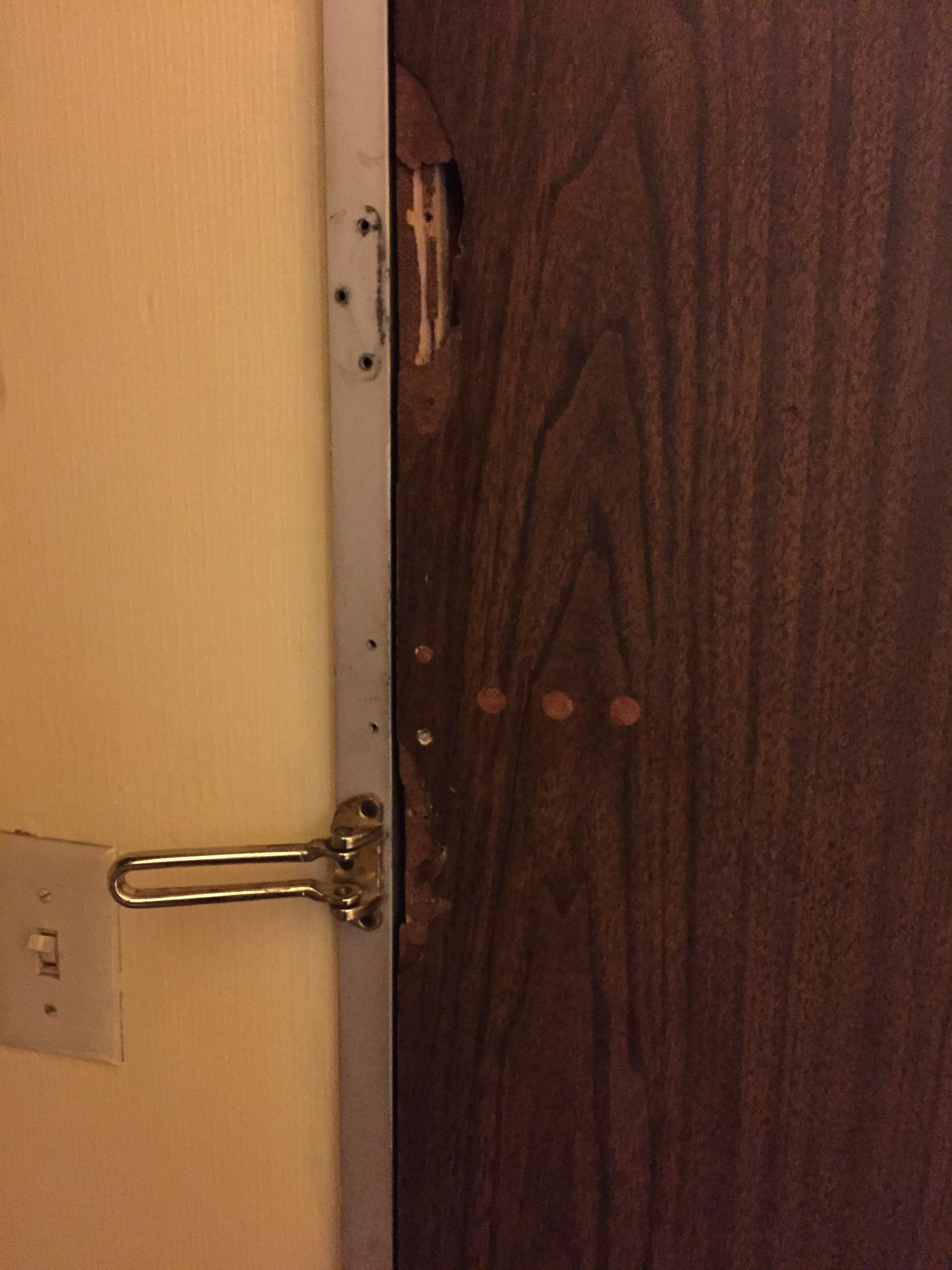 Bathroom door split